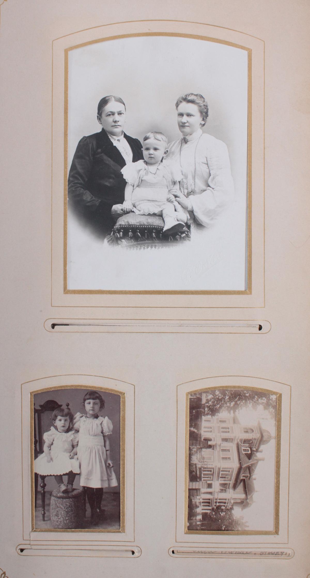 Historismus Fotoalbum um 1880-5