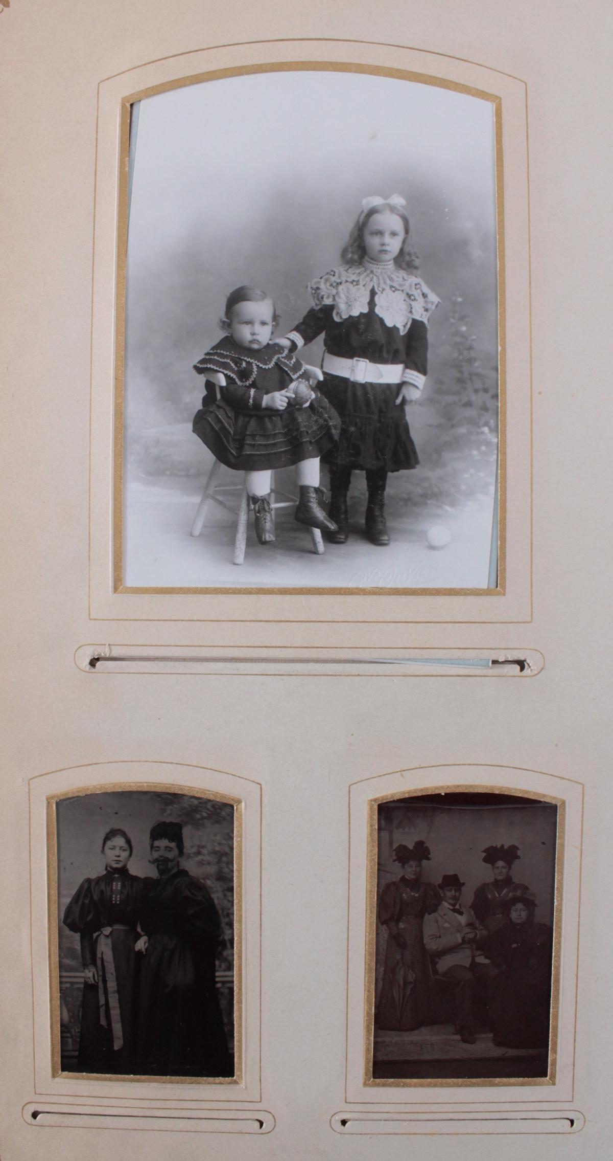 Historismus Fotoalbum um 1880-6