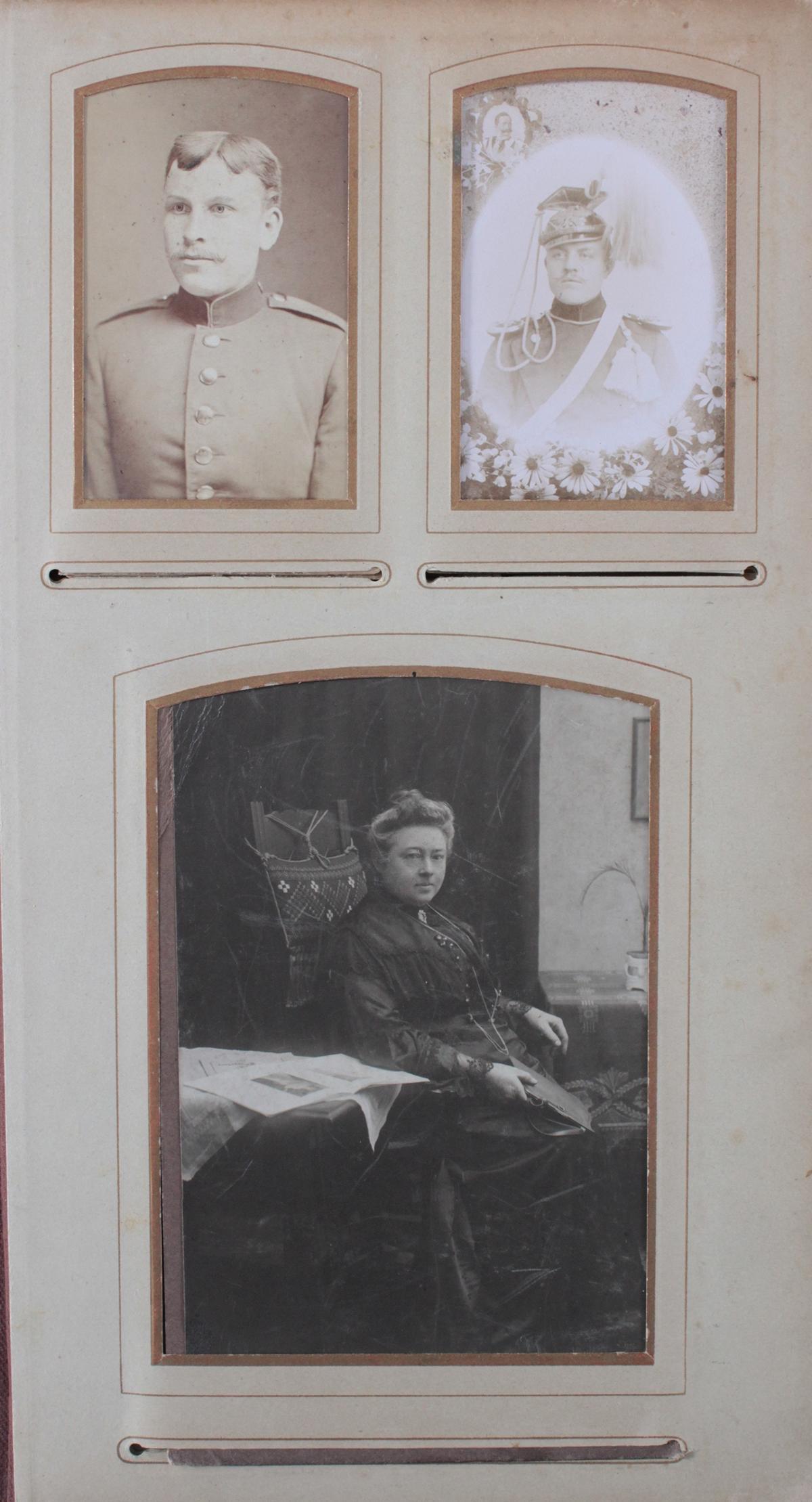 Historismus Fotoalbum um 1880-2