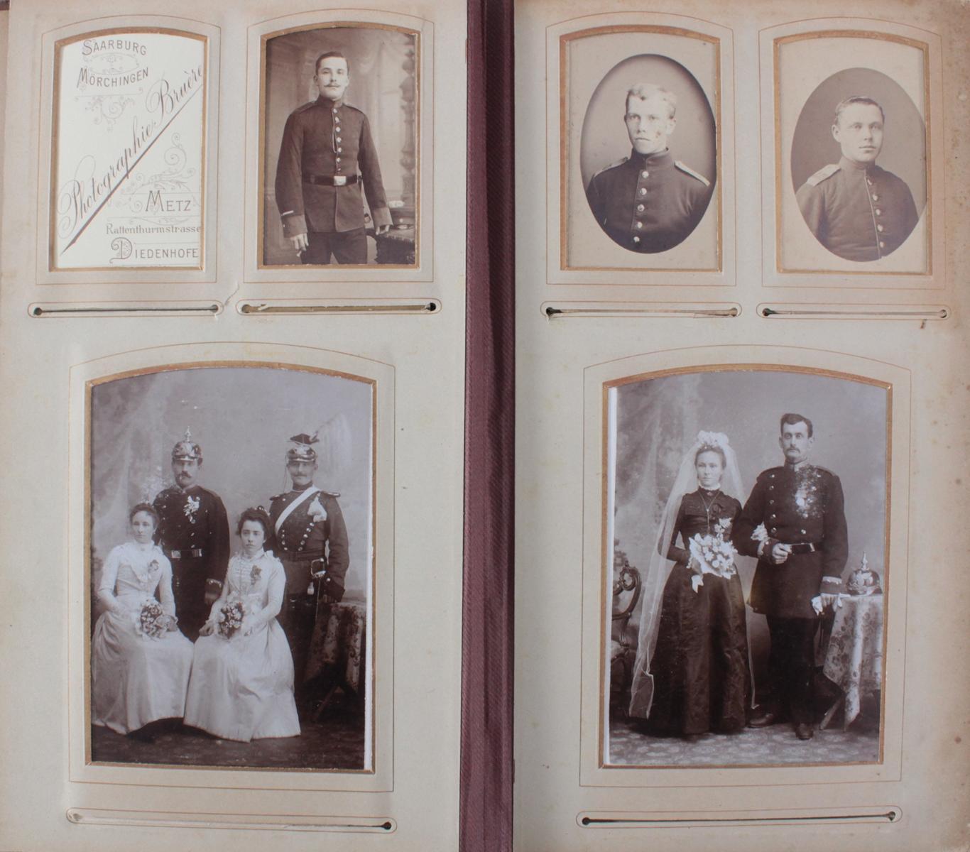 Historismus Fotoalbum um 1880-3