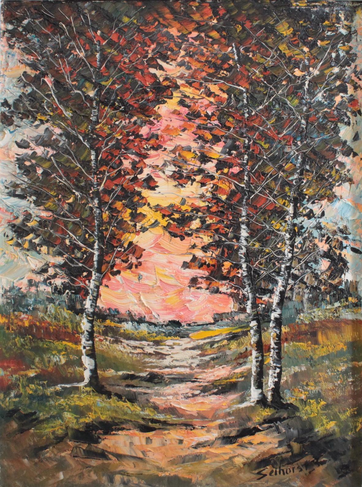 Selhorst, 'Herbst Landschaft'-2