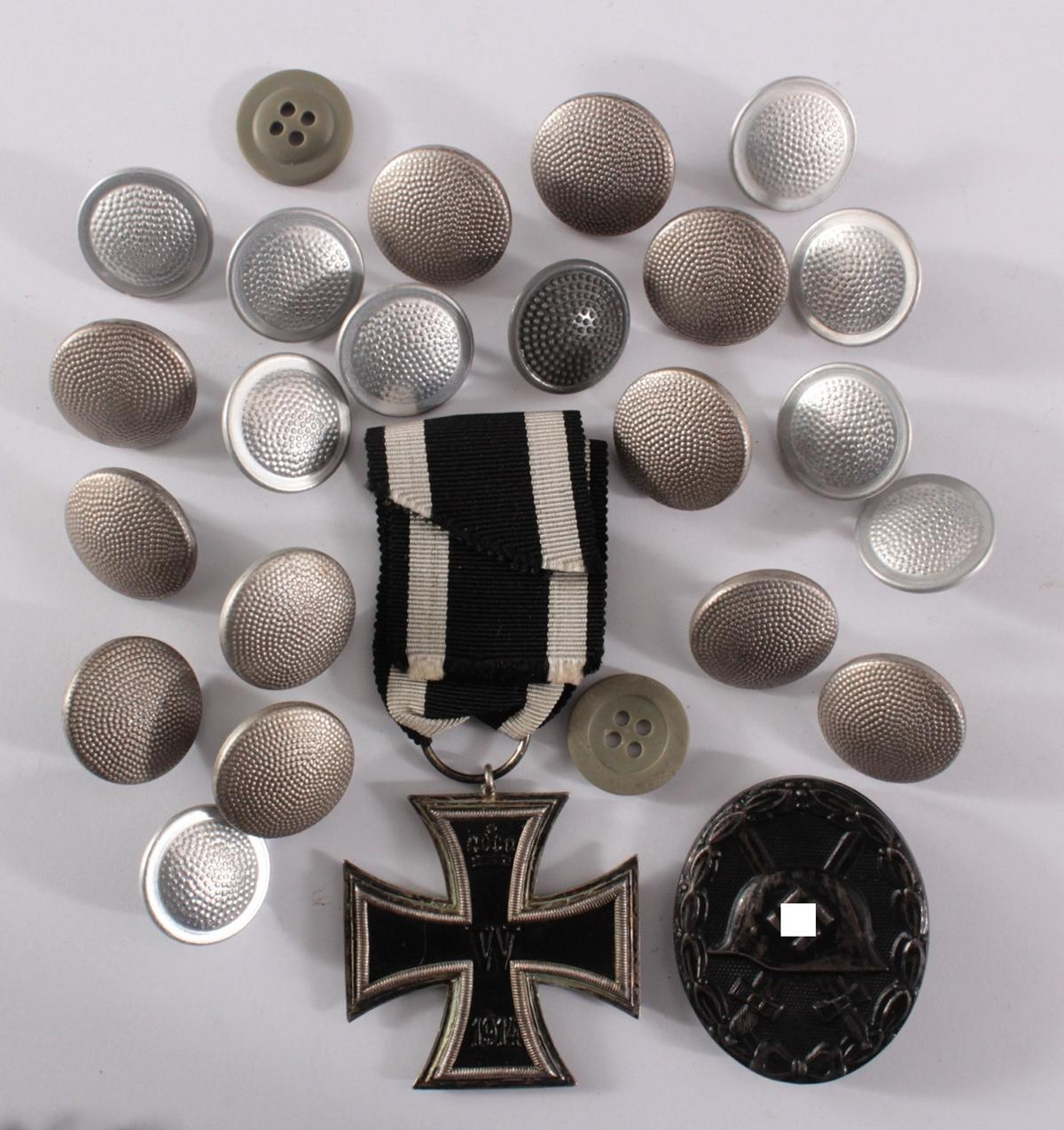 Konvolut Militaria 1. und 2. WK.