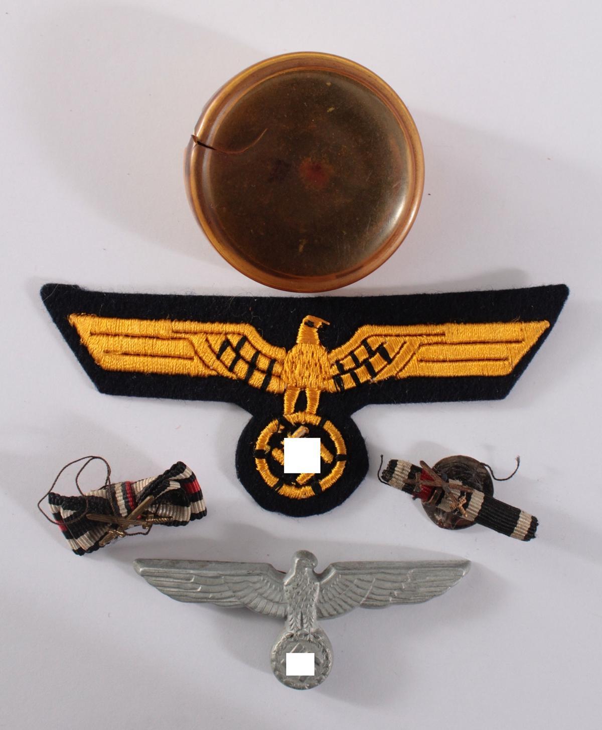 Drittes Reich, Abzeichen und Miniaturspangen