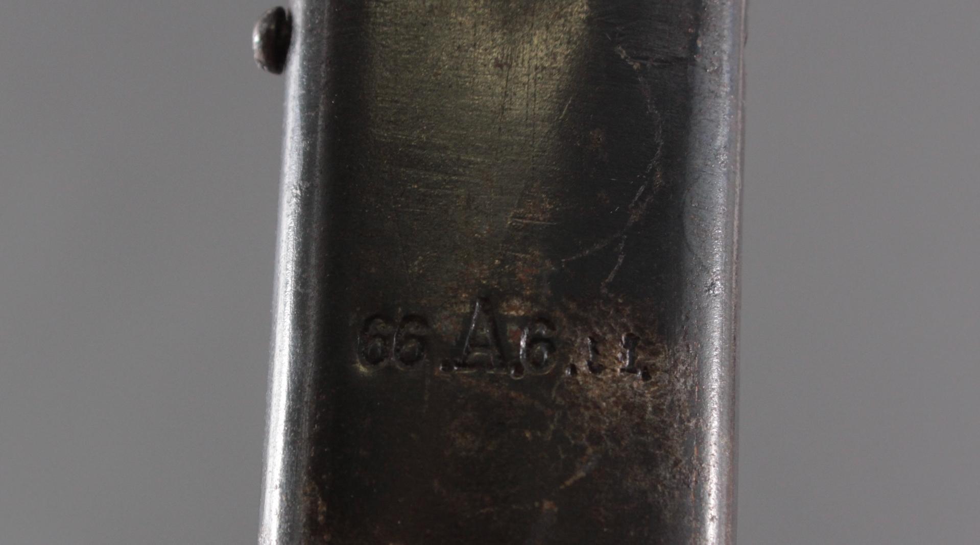 Löwenkopf Offizierssäbel um 1900-5