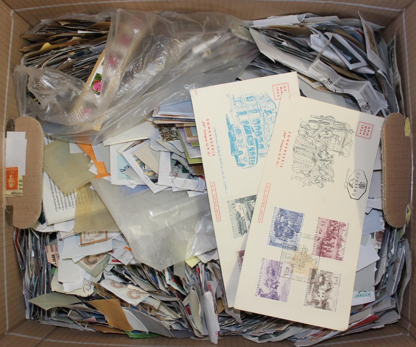 Briefmarken Kiloware