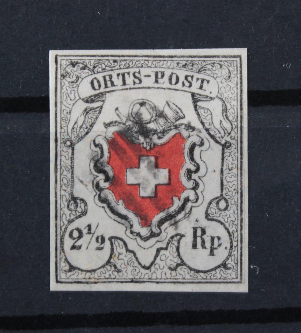 Schweiz Bundesmarken, Michel 5I, Zumstein 13I