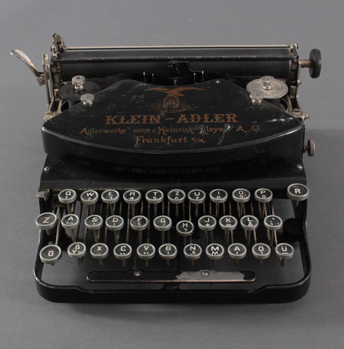 Klein-Adler Schreibmaschine um 1920-2