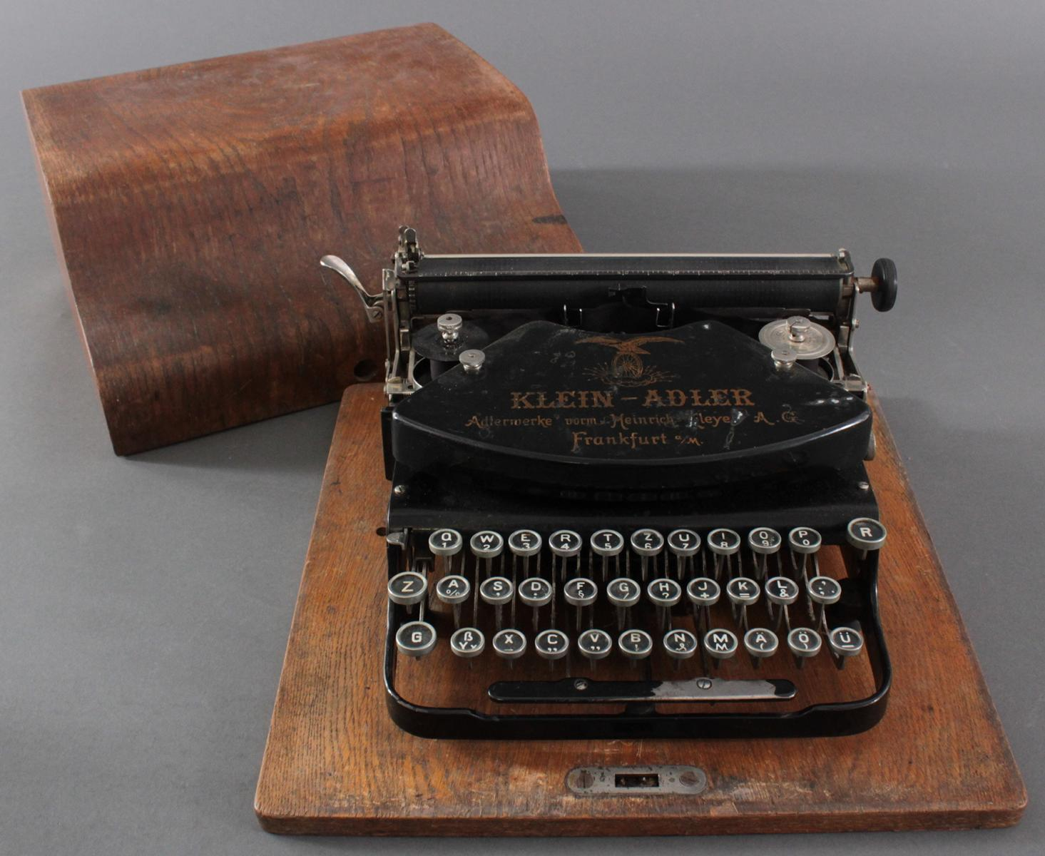 Klein-Adler Schreibmaschine um 1920-4