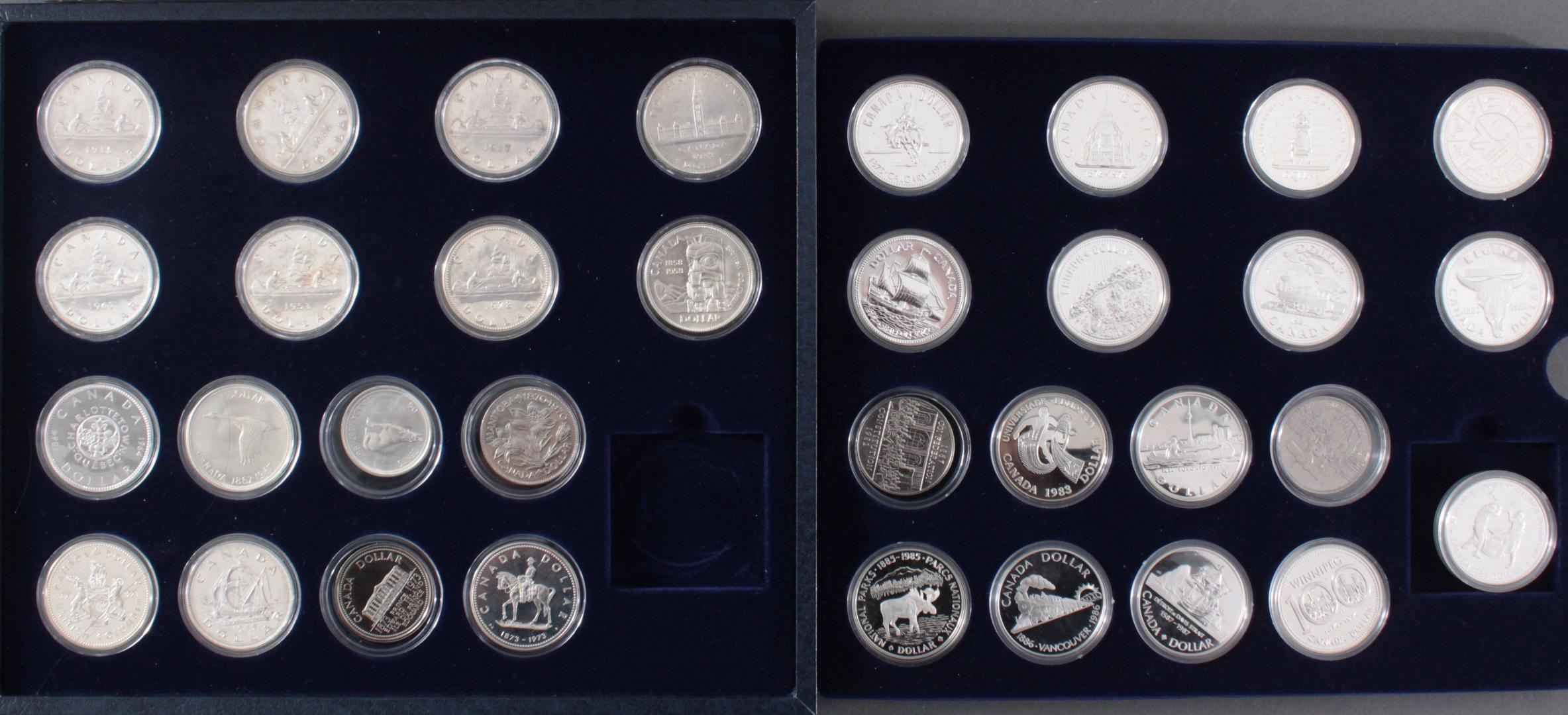 Kanada –  Die Offiziellen Silber-Gedenkmünzen