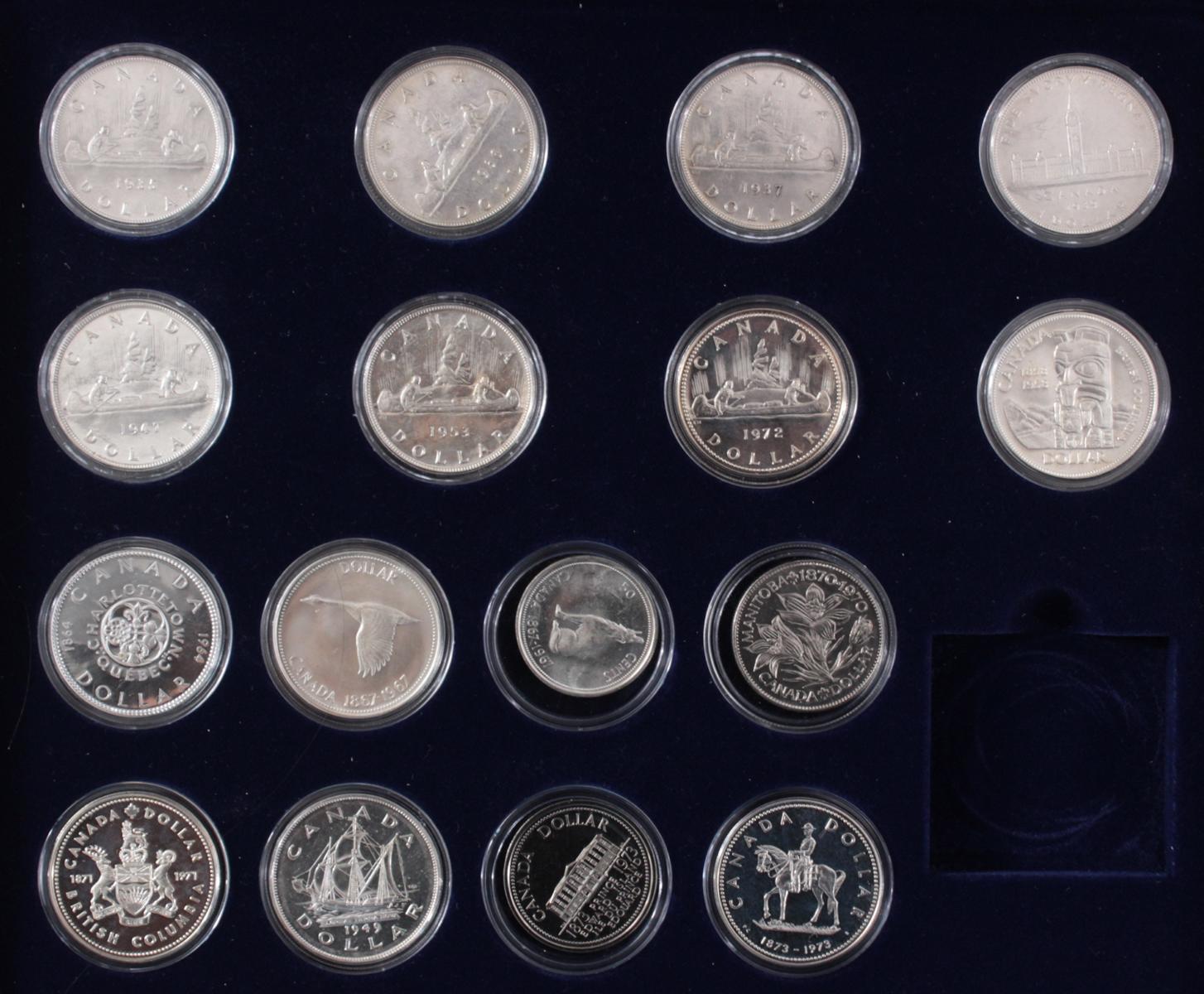 Kanada –  Die Offiziellen Silber-Gedenkmünzen-2