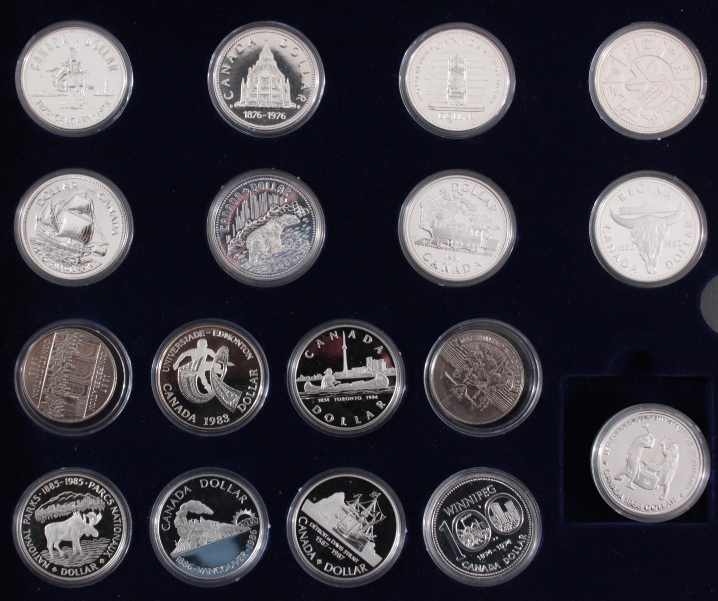 Kanada –  Die Offiziellen Silber-Gedenkmünzen-3