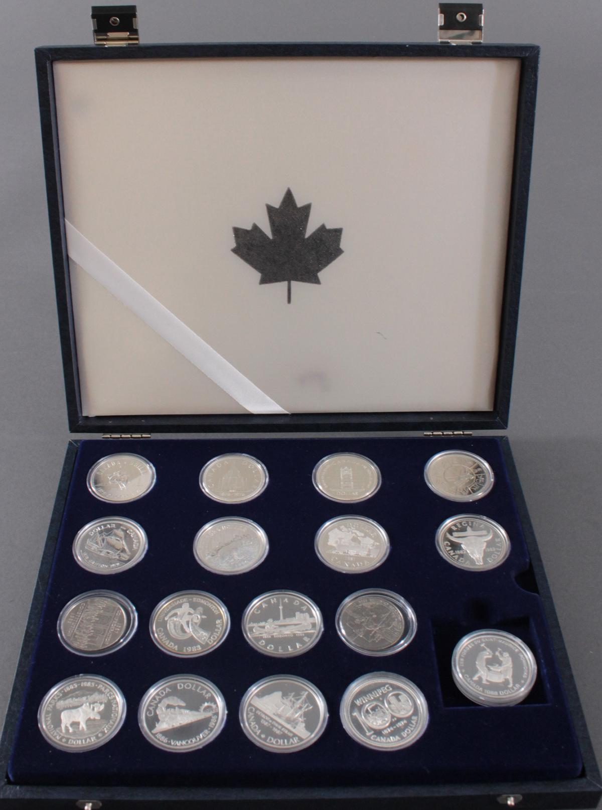 Kanada –  Die Offiziellen Silber-Gedenkmünzen-4