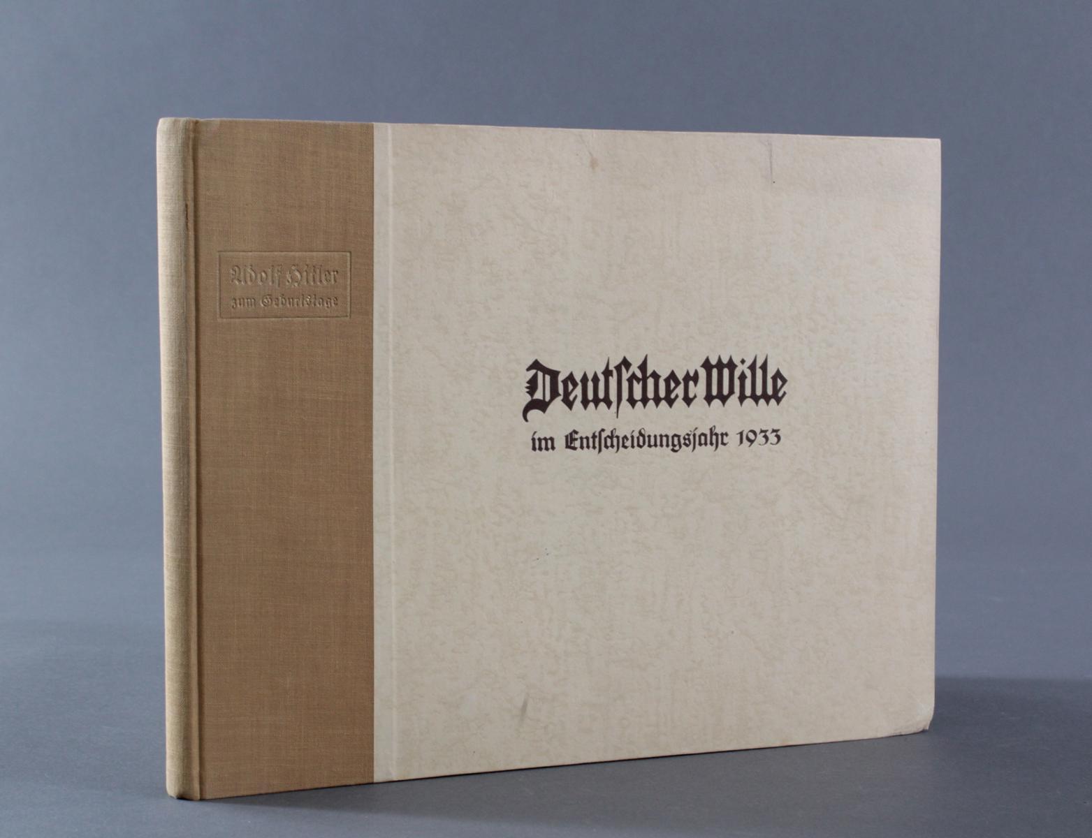 Deutscher Wille im Entscheidungsjahr 1933