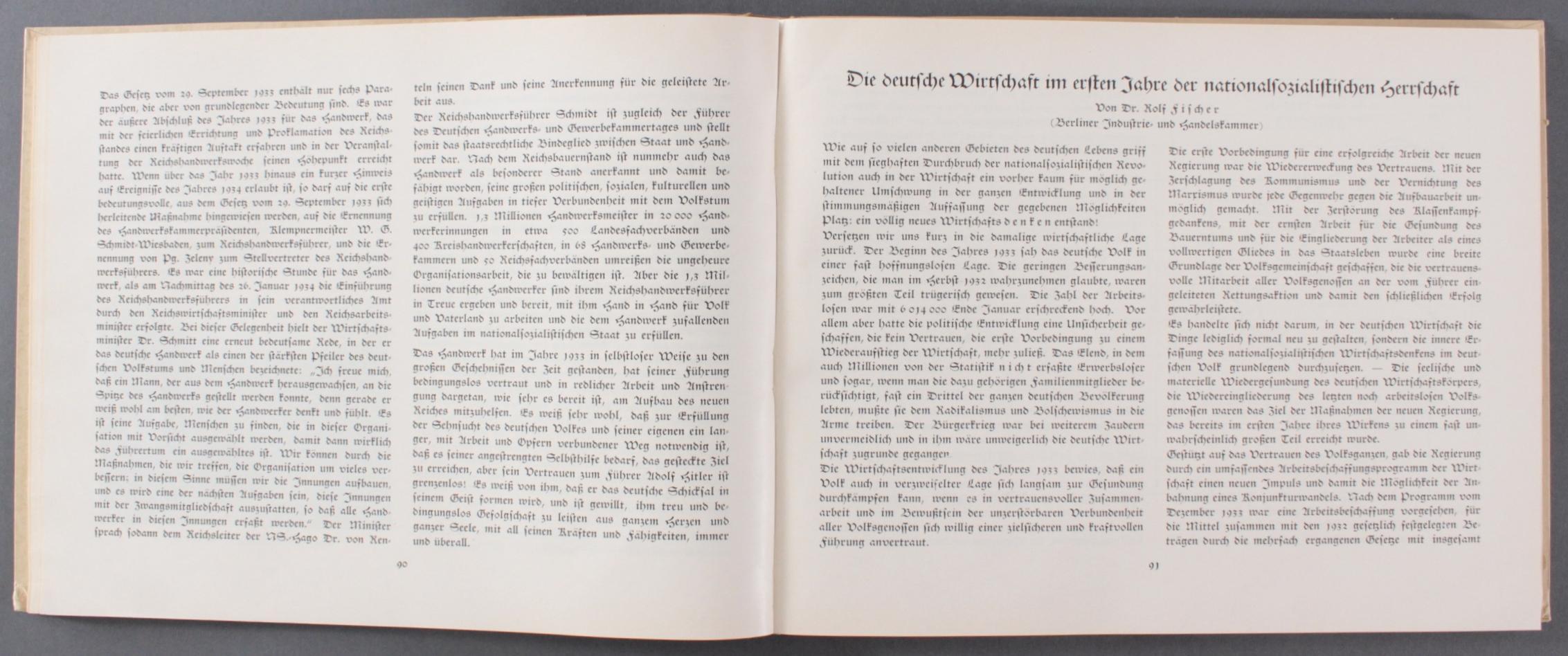 Deutscher Wille im Entscheidungsjahr 1933-4