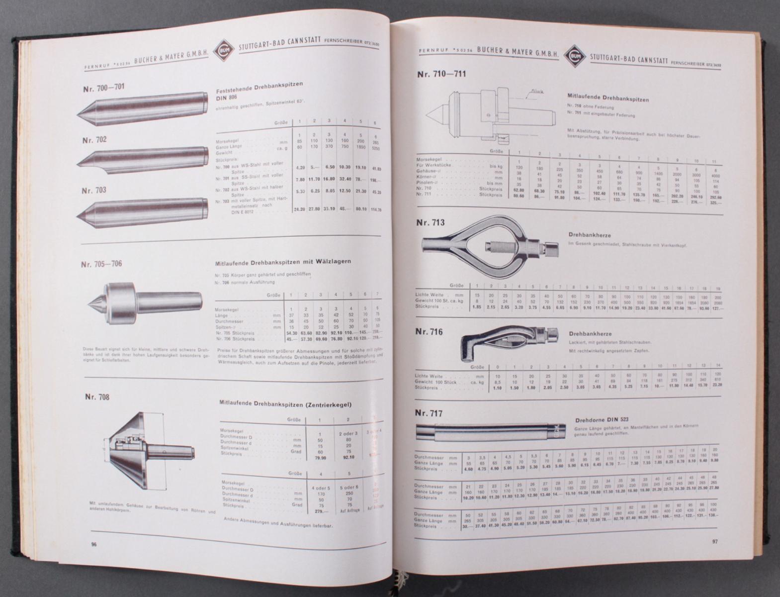C. Blum Werkzeug Katalog von 1920-3