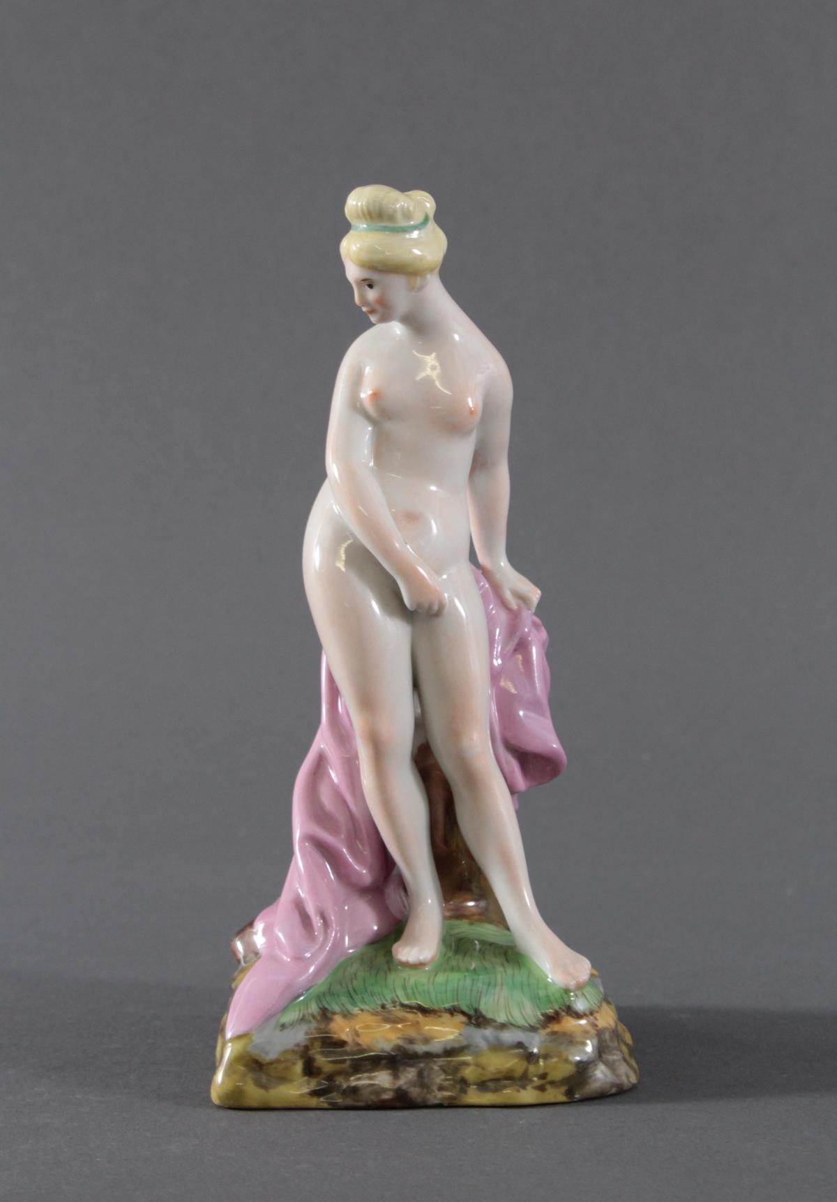 Höchst Porzellanfigur. 'Venus vor dem Bad', 20. Jh.,