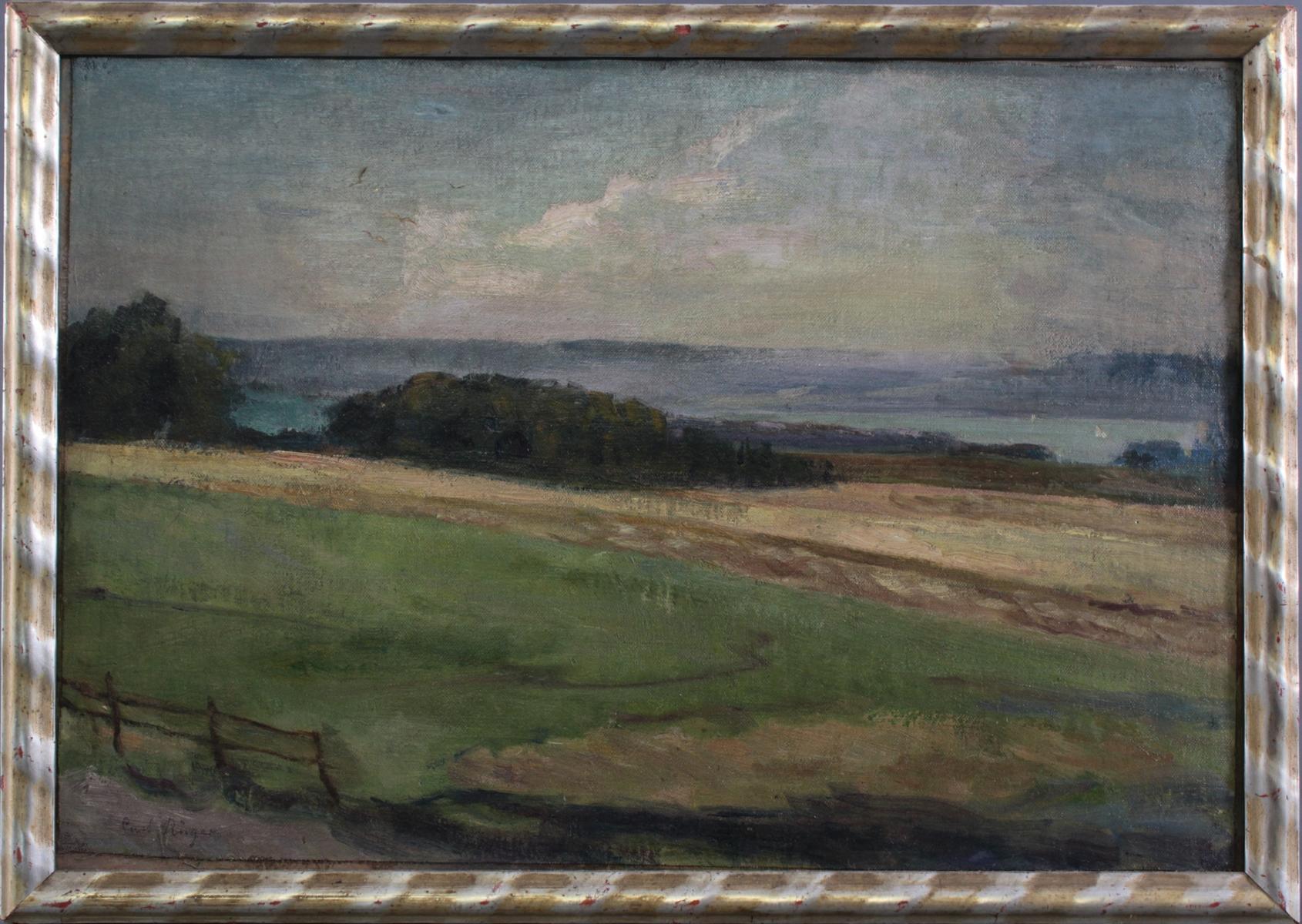 Curt Rüger (1867 – 1930), Uferpartie am Ammersee