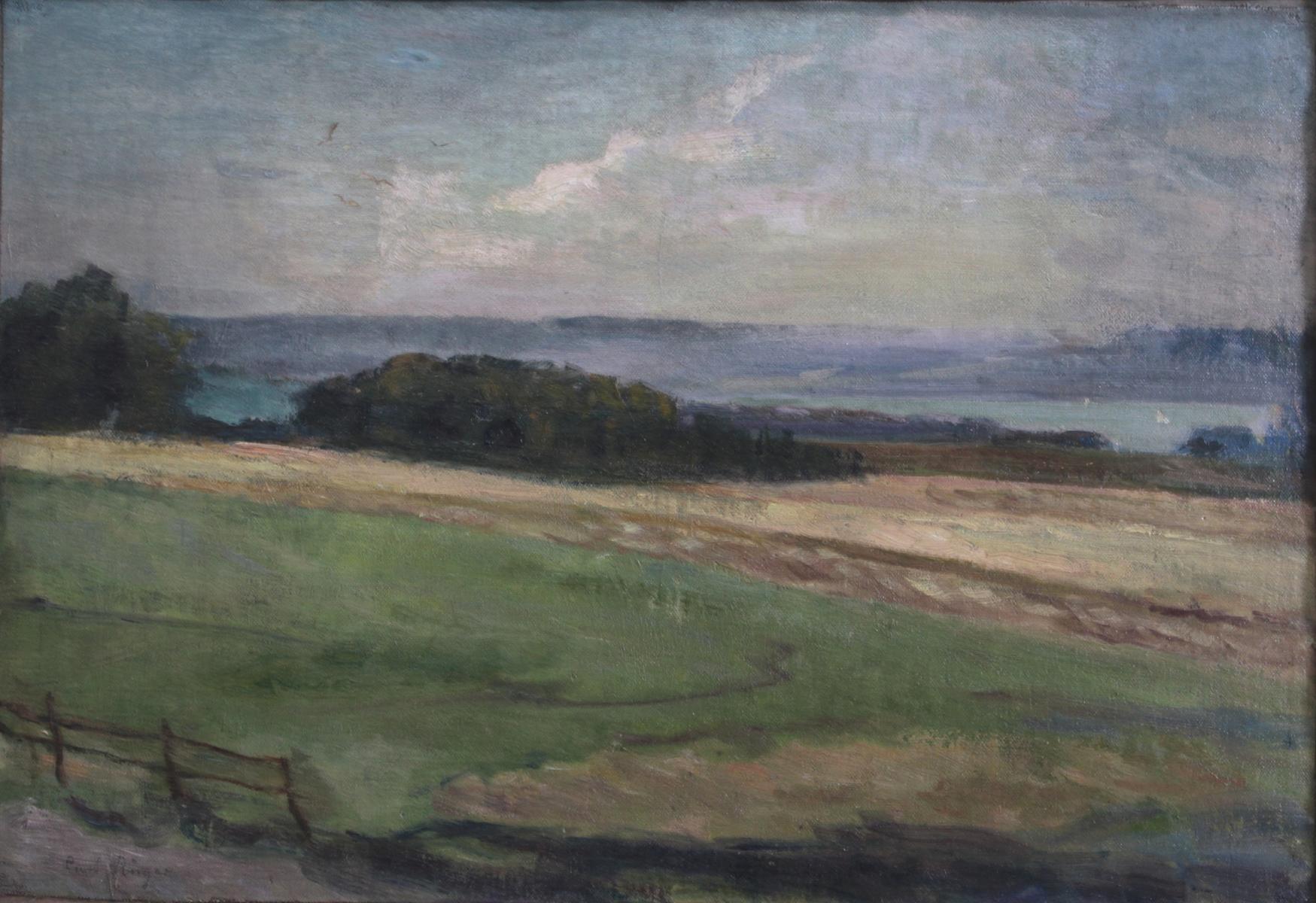 Curt Rüger (1867 – 1930), Uferpartie am Ammersee-2