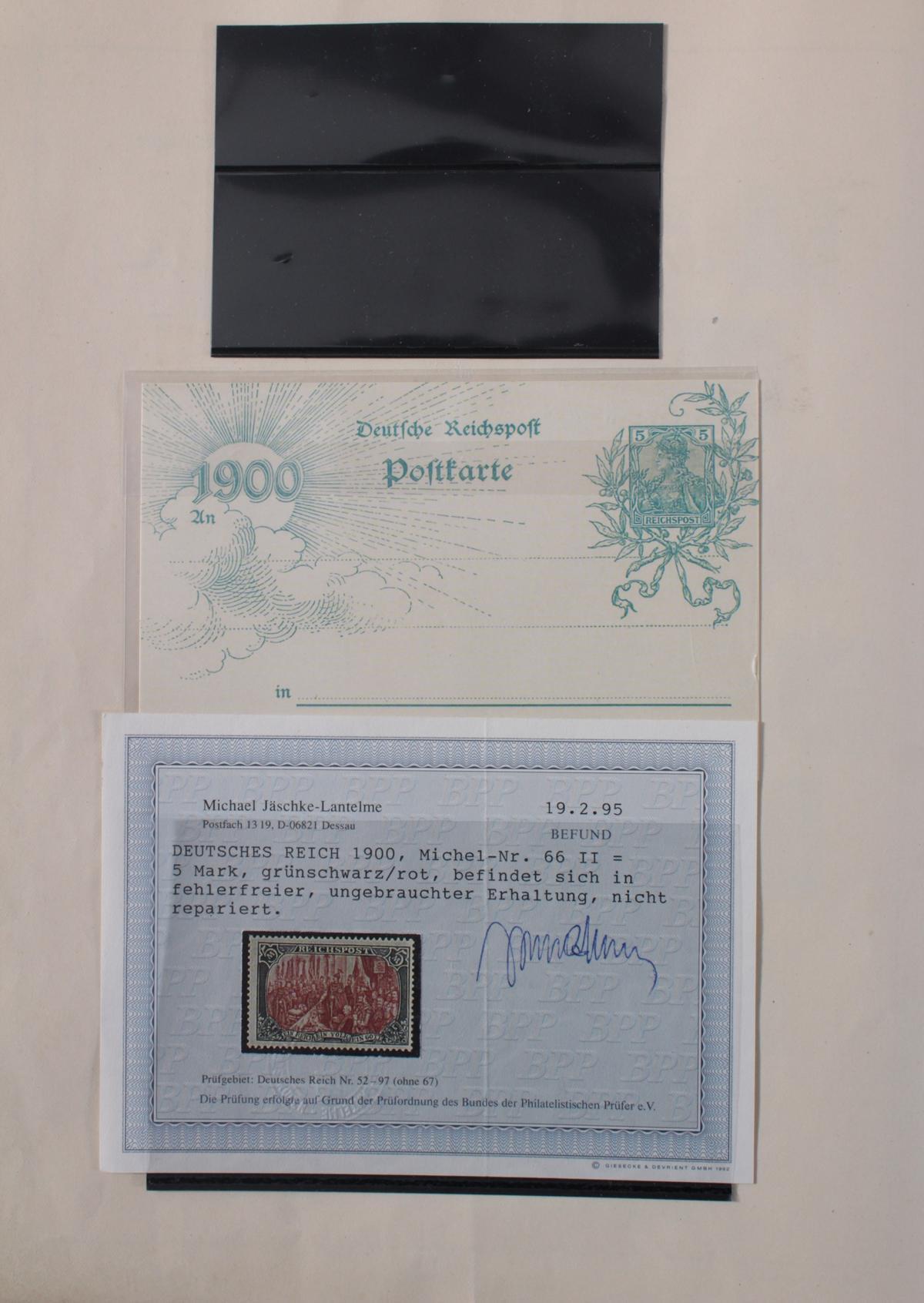 Deutsches Reich, umfangreicher Sammlungsnachlass-3