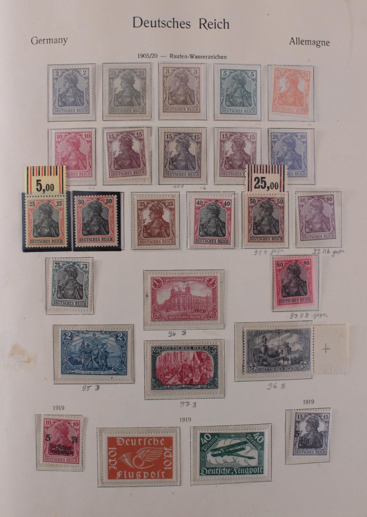 Deutsches Reich, umfangreicher Sammlungsnachlass-6