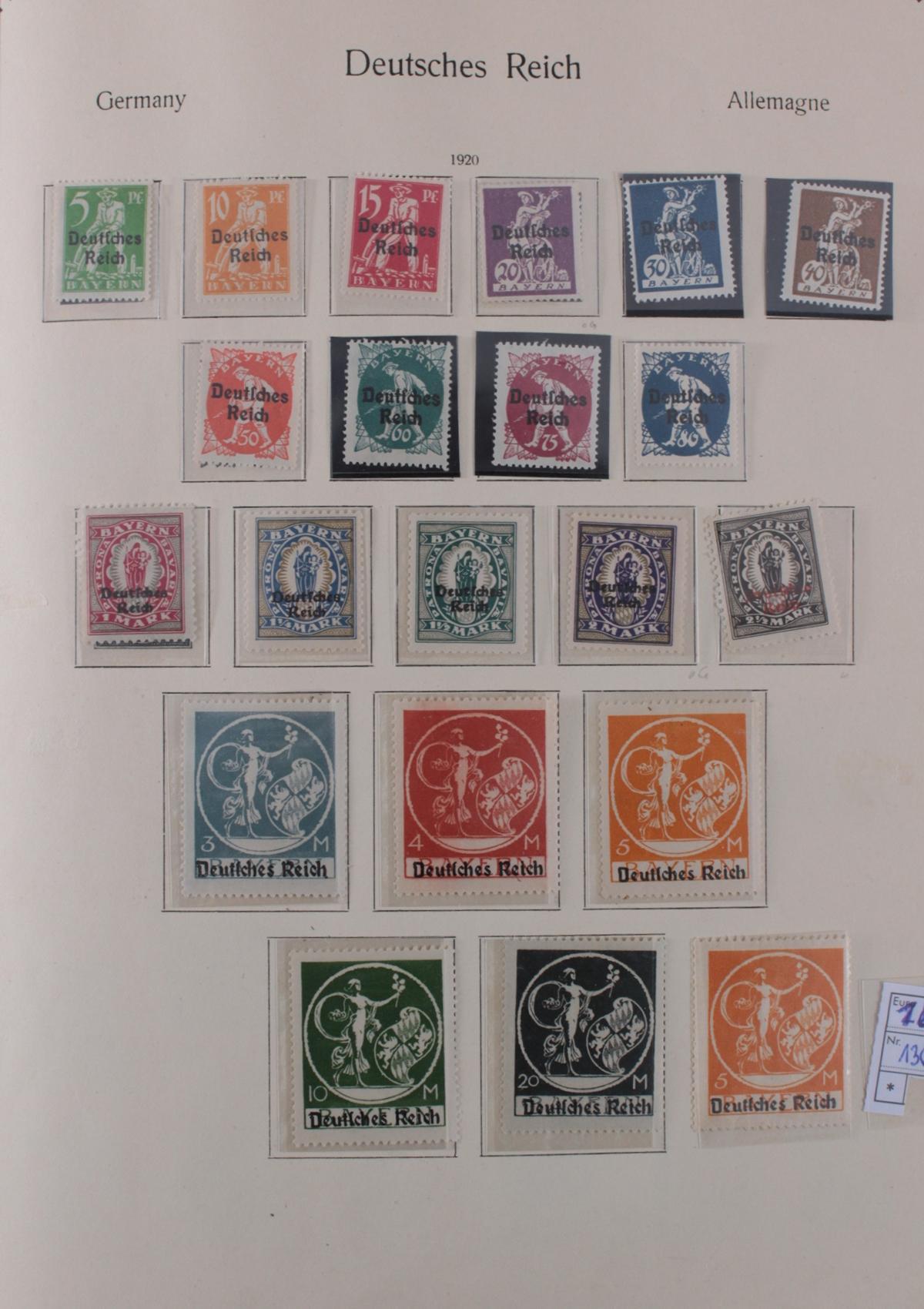 Deutsches Reich, umfangreicher Sammlungsnachlass-7