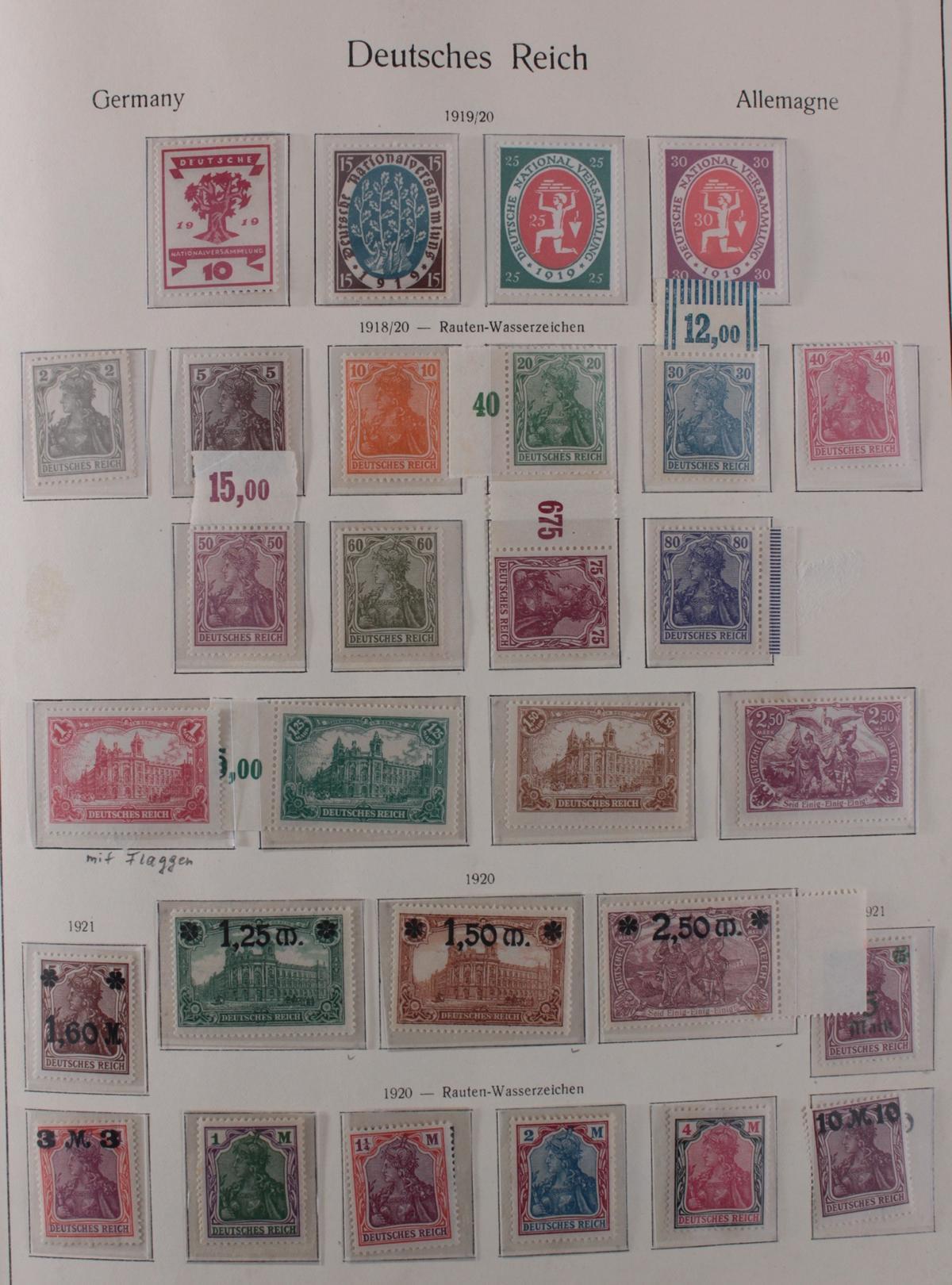 Deutsches Reich, umfangreicher Sammlungsnachlass-8