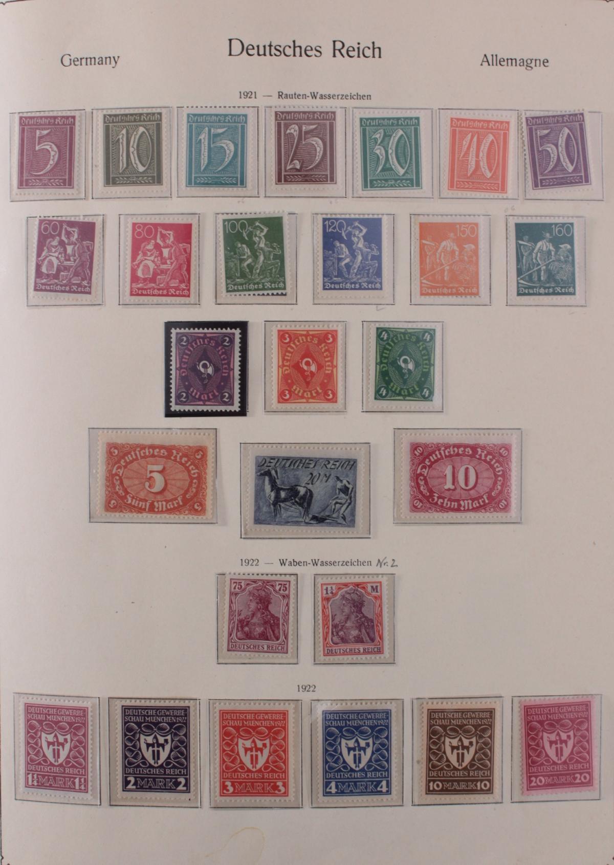 Deutsches Reich, umfangreicher Sammlungsnachlass-10