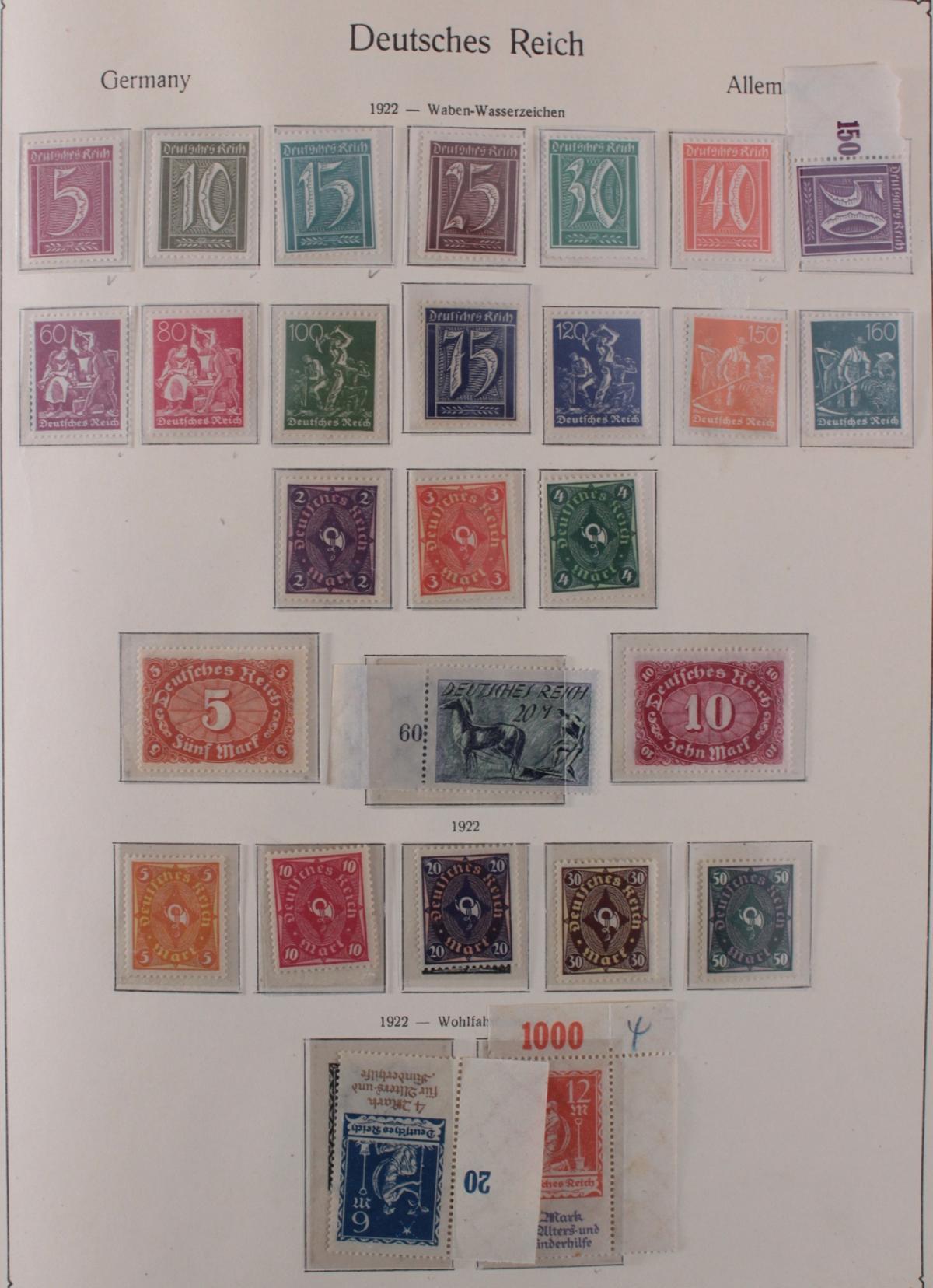 Deutsches Reich, umfangreicher Sammlungsnachlass-11