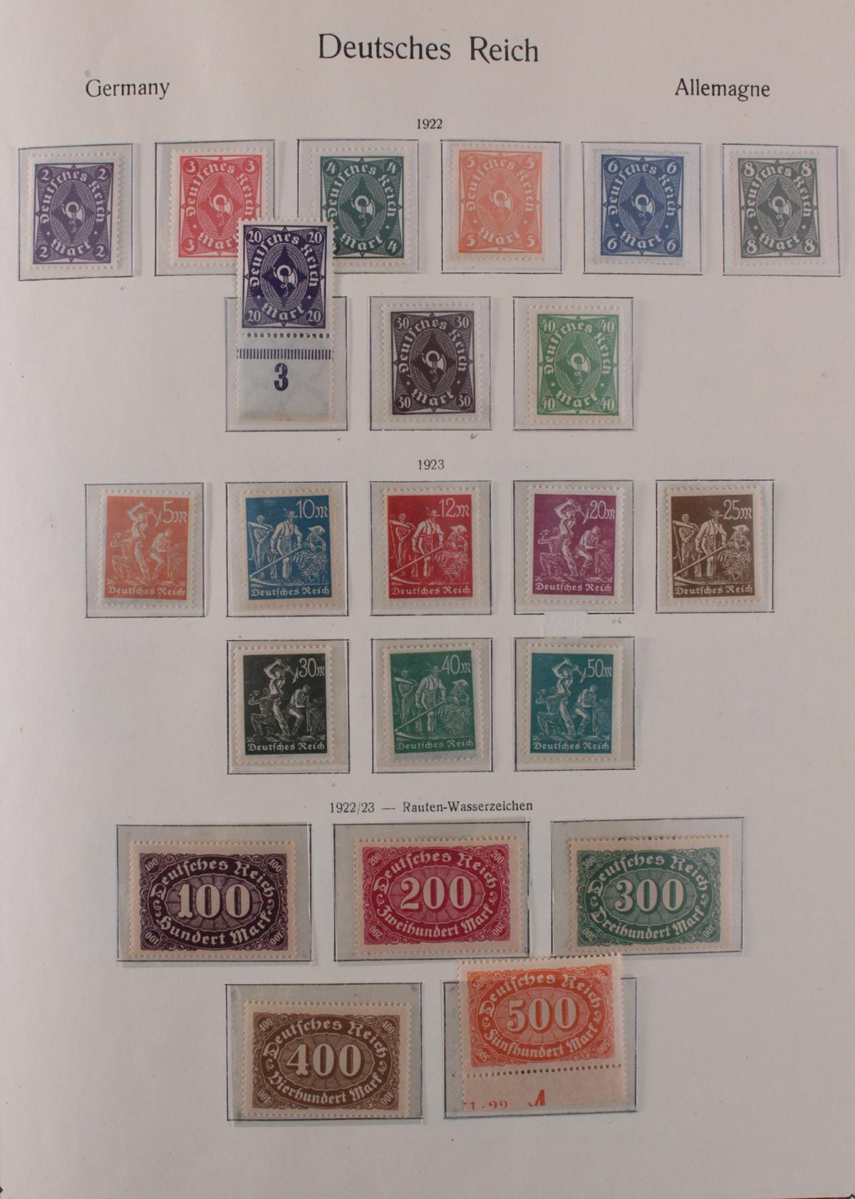 Deutsches Reich, umfangreicher Sammlungsnachlass-12