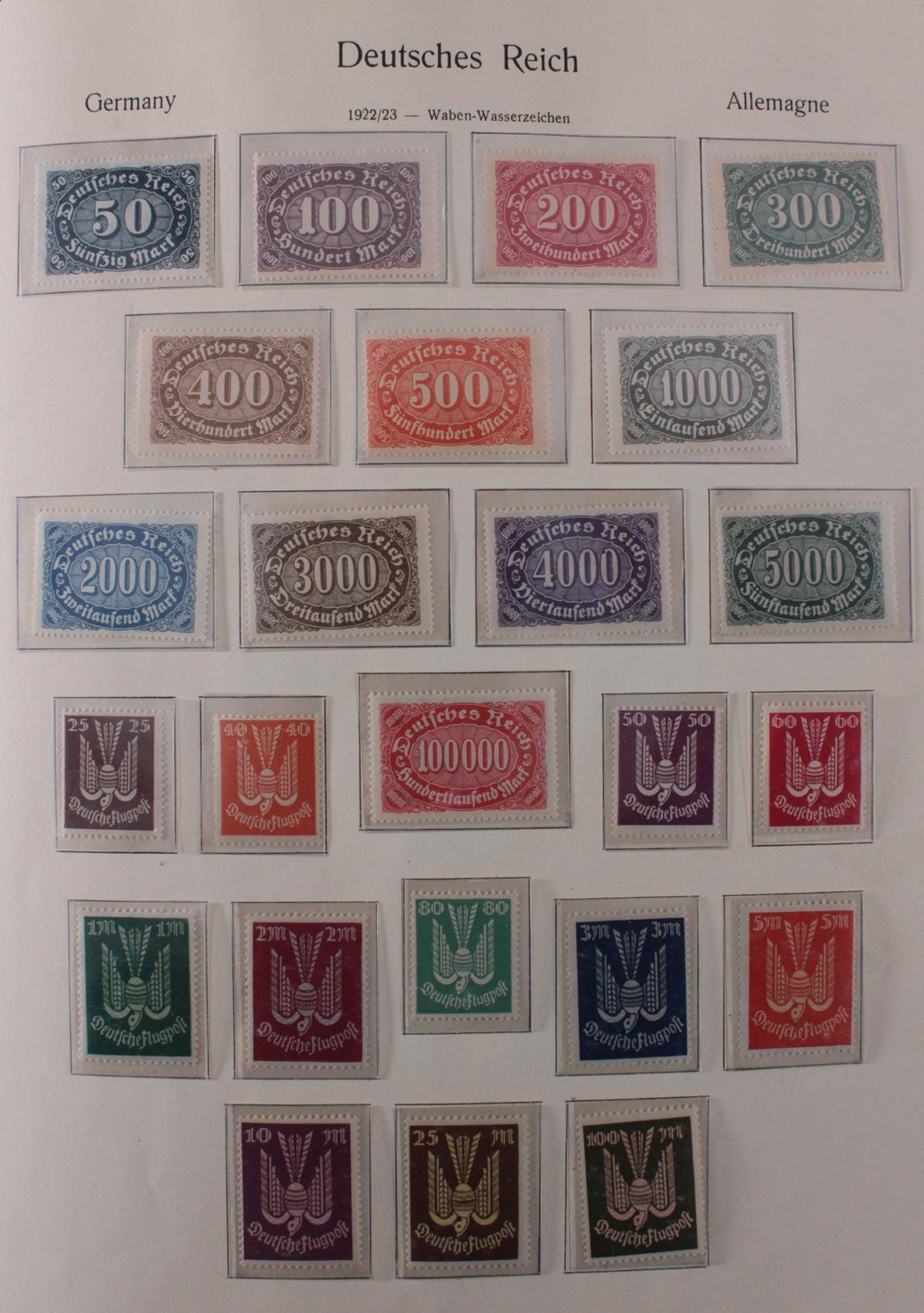 Deutsches Reich, umfangreicher Sammlungsnachlass-13