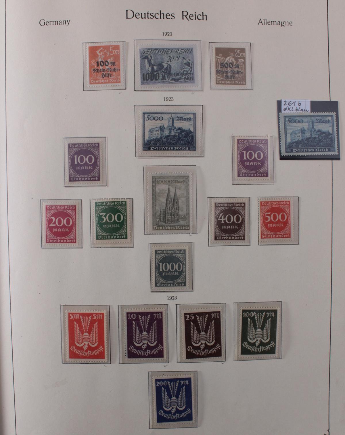 Deutsches Reich, umfangreicher Sammlungsnachlass-14