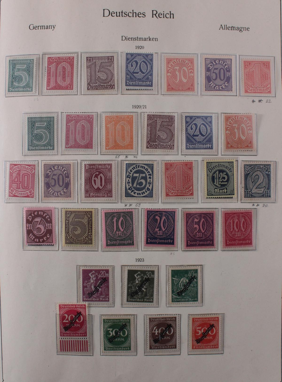 Deutsches Reich, umfangreicher Sammlungsnachlass-15