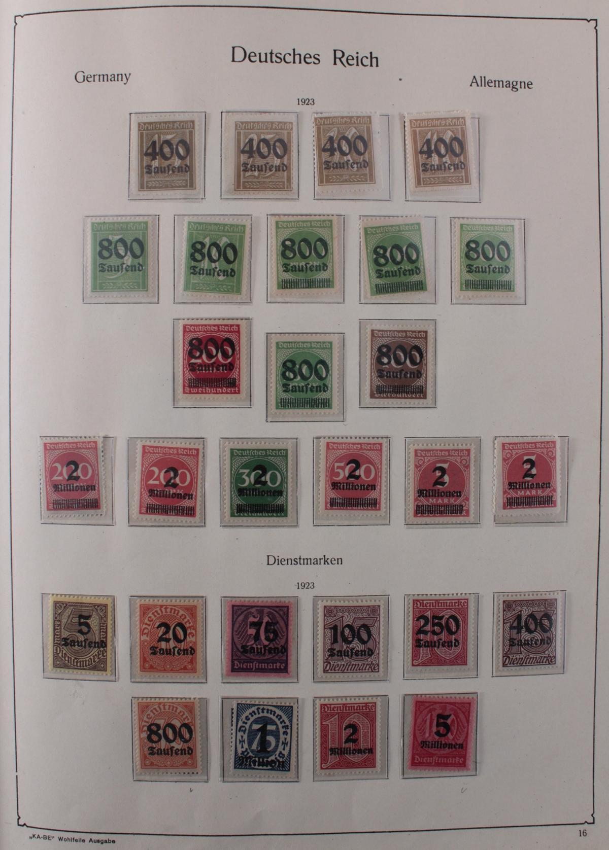 Deutsches Reich, umfangreicher Sammlungsnachlass-17