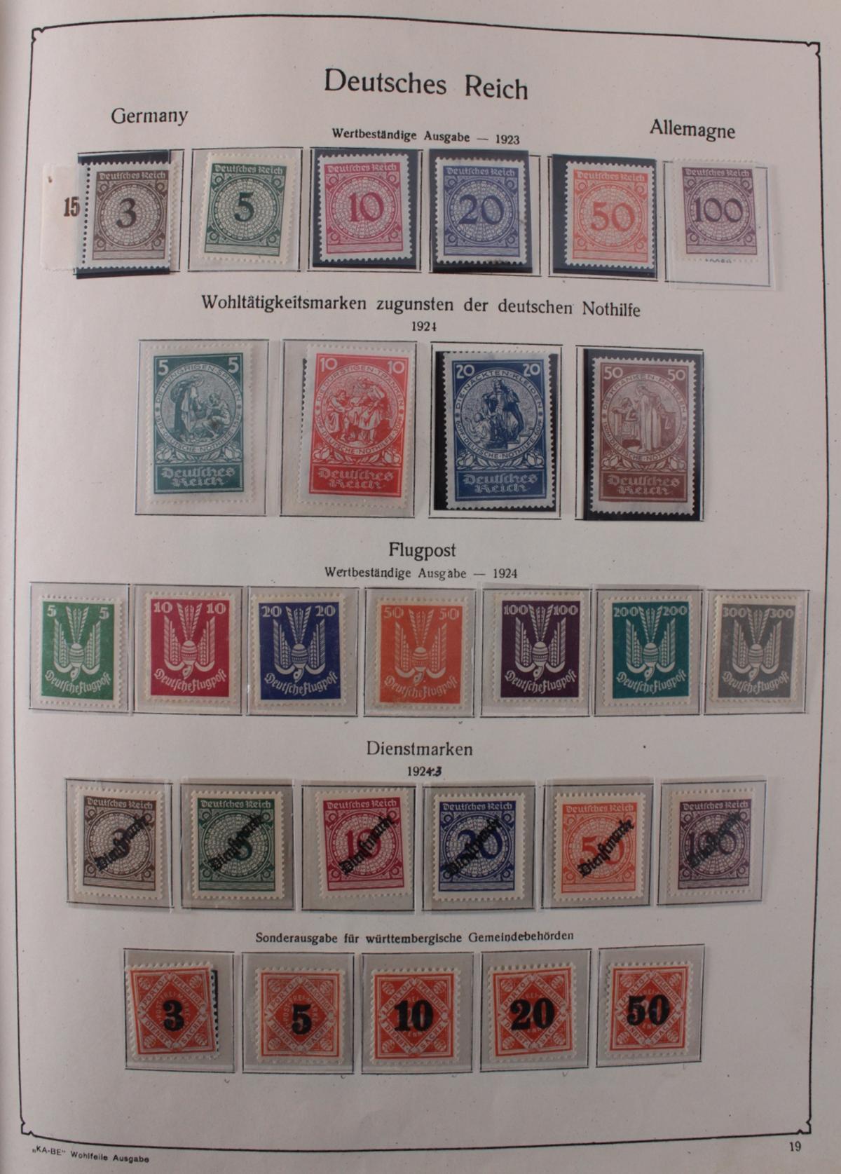 Deutsches Reich, umfangreicher Sammlungsnachlass-20
