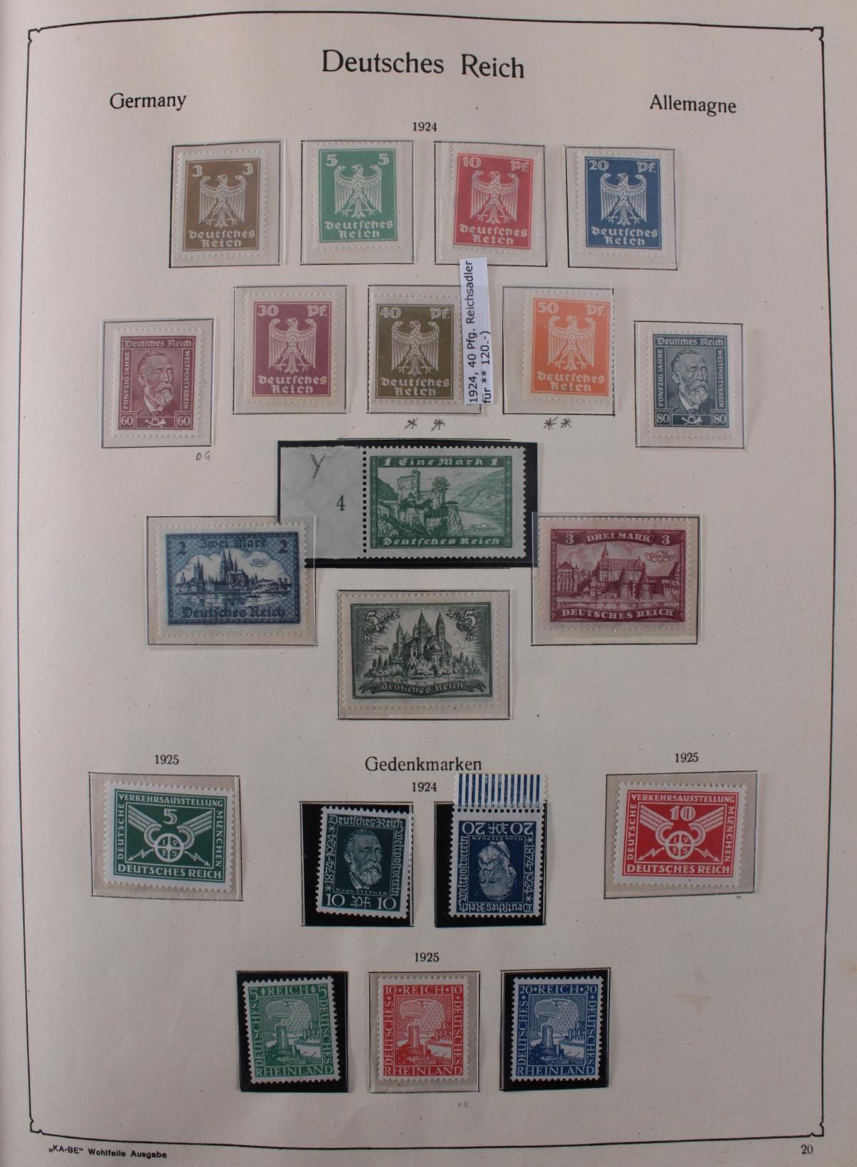 Deutsches Reich, umfangreicher Sammlungsnachlass-21