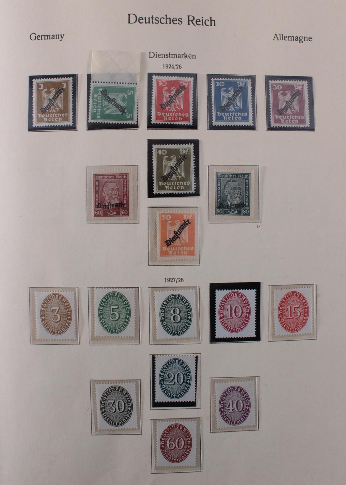 Deutsches Reich, umfangreicher Sammlungsnachlass-23