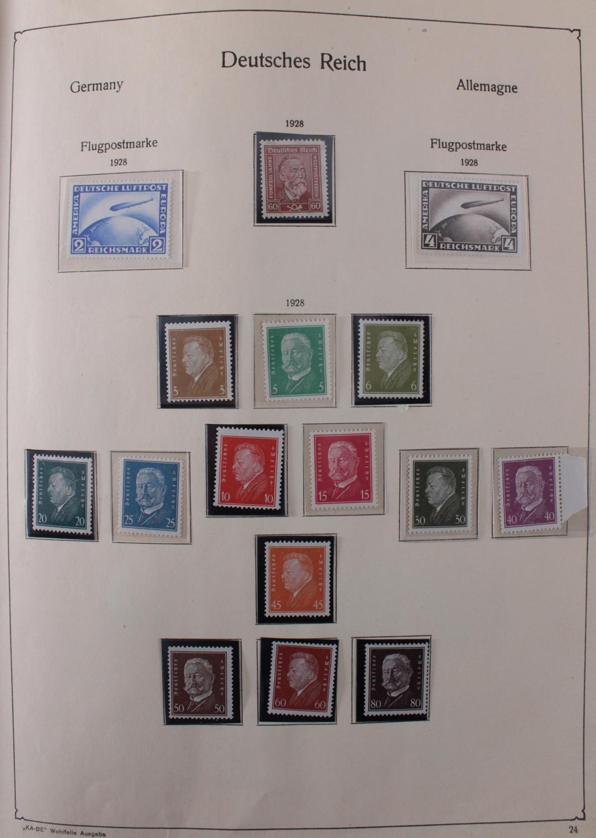 Deutsches Reich, umfangreicher Sammlungsnachlass-25