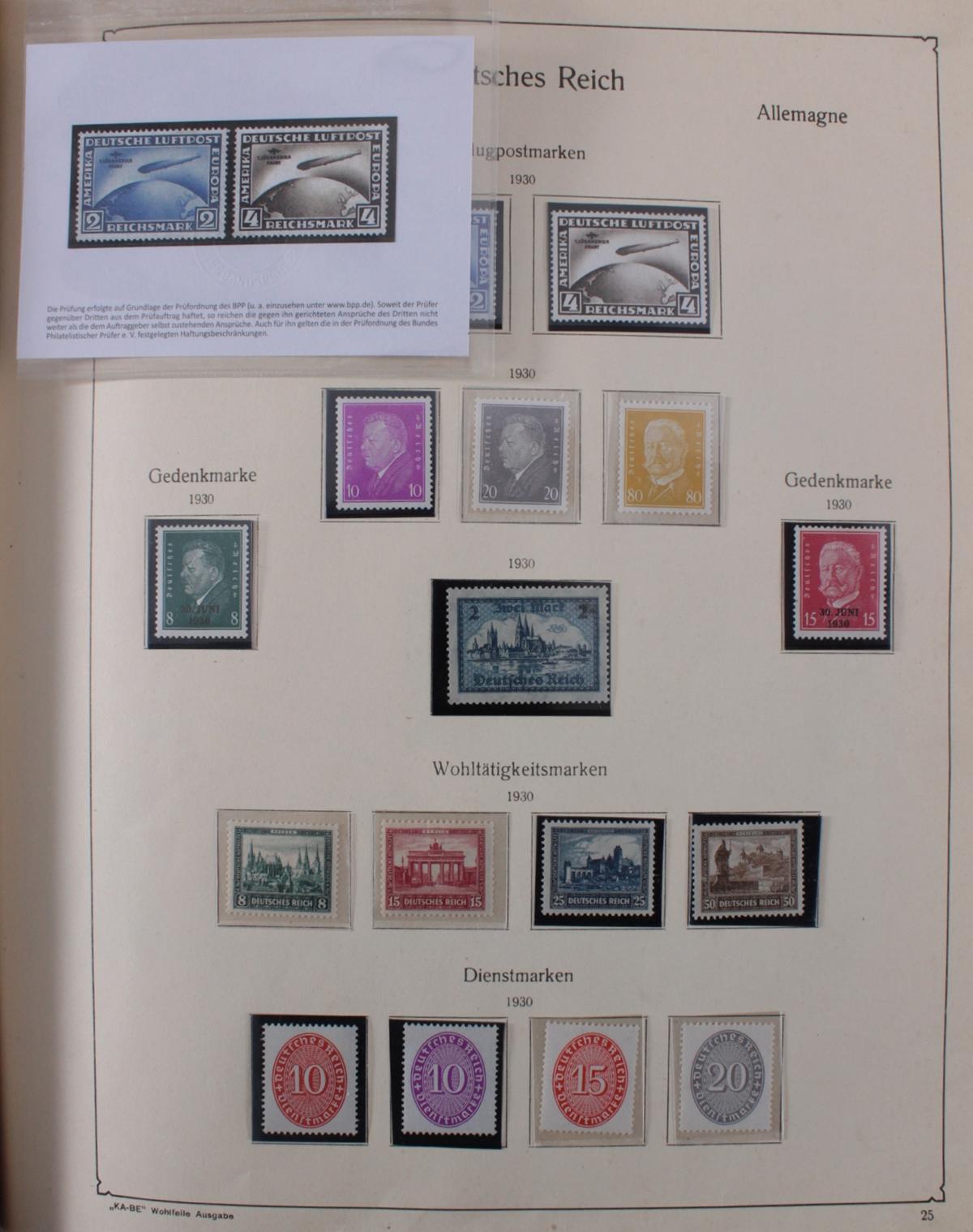 Deutsches Reich, umfangreicher Sammlungsnachlass-26