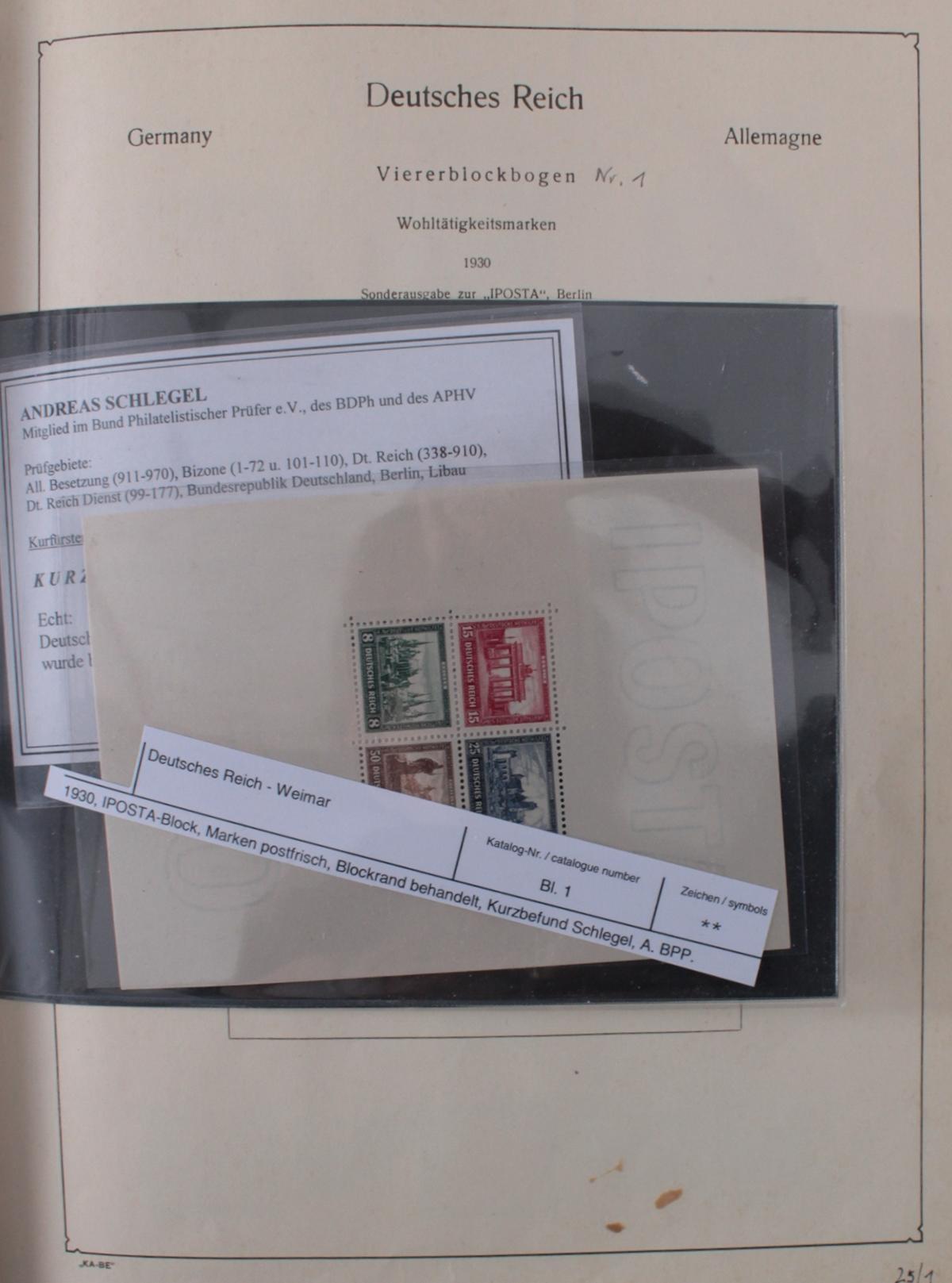 Deutsches Reich, umfangreicher Sammlungsnachlass-27