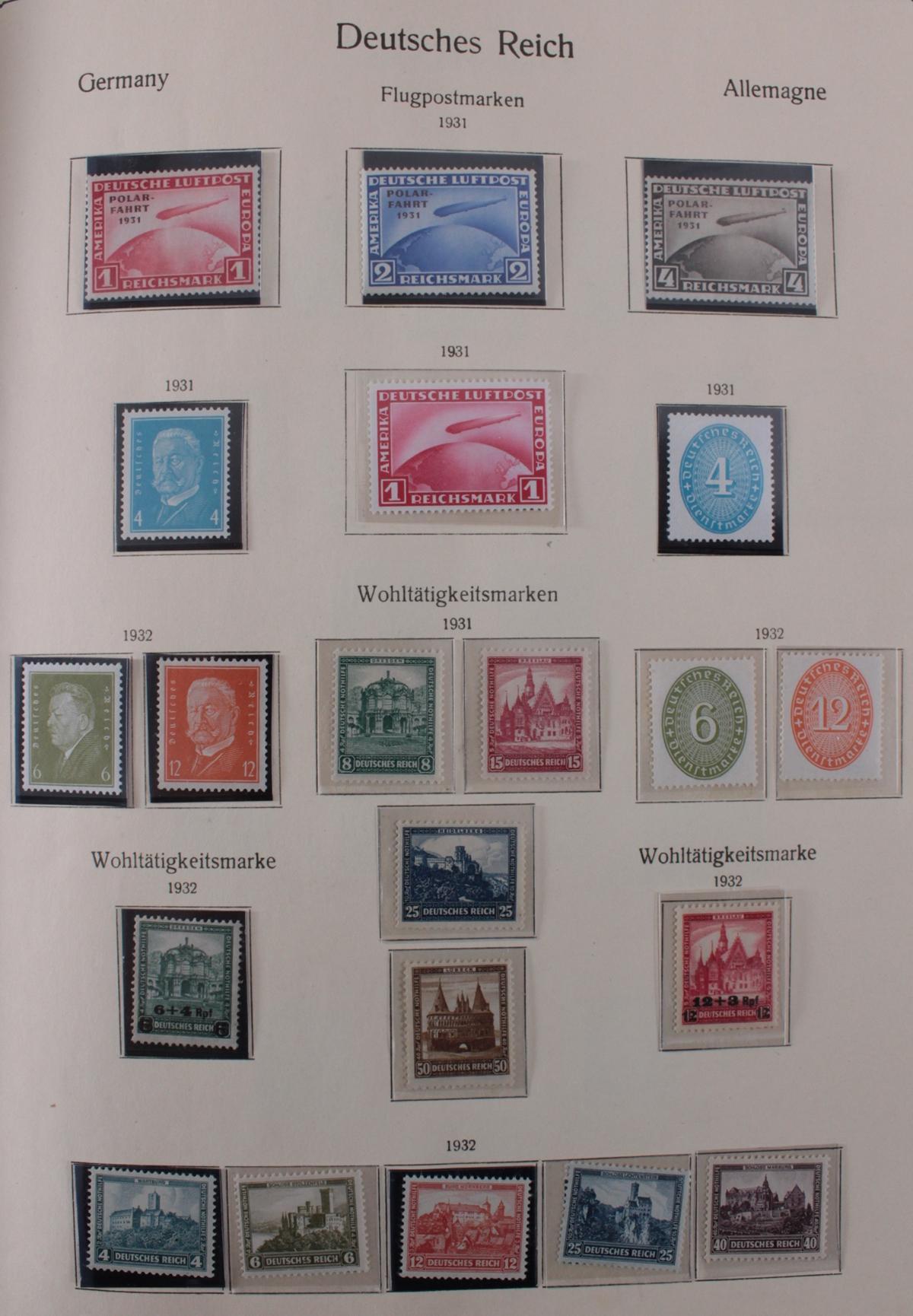 Deutsches Reich, umfangreicher Sammlungsnachlass-28