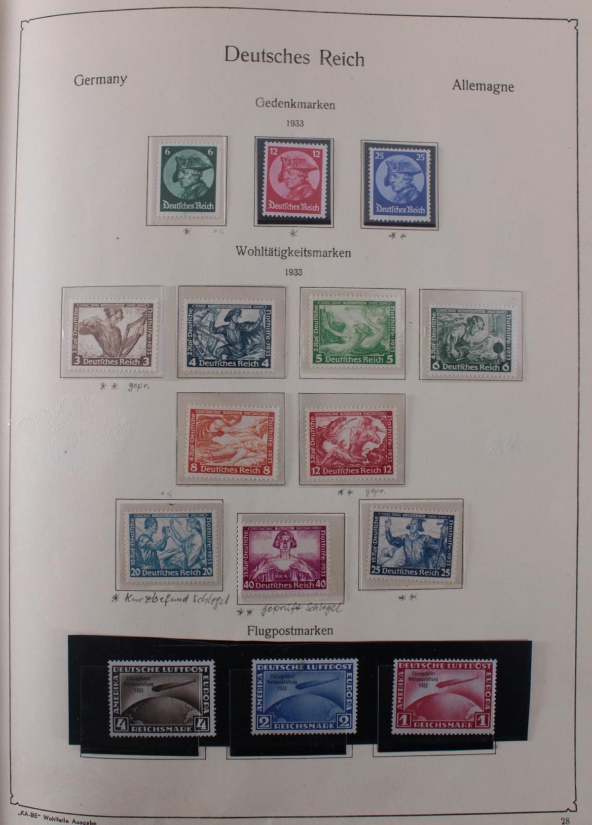 Deutsches Reich, umfangreicher Sammlungsnachlass-30