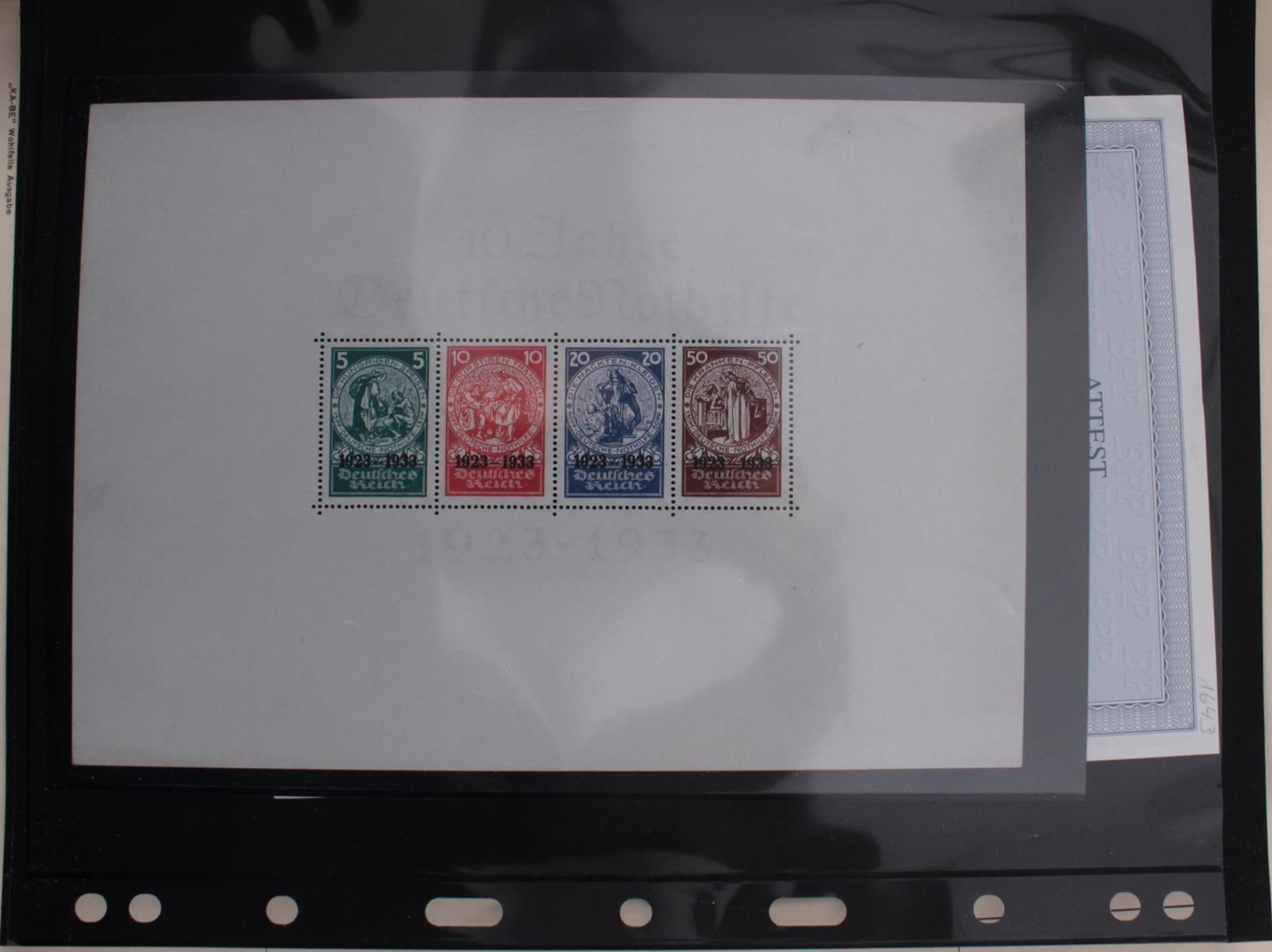 Deutsches Reich, umfangreicher Sammlungsnachlass-32