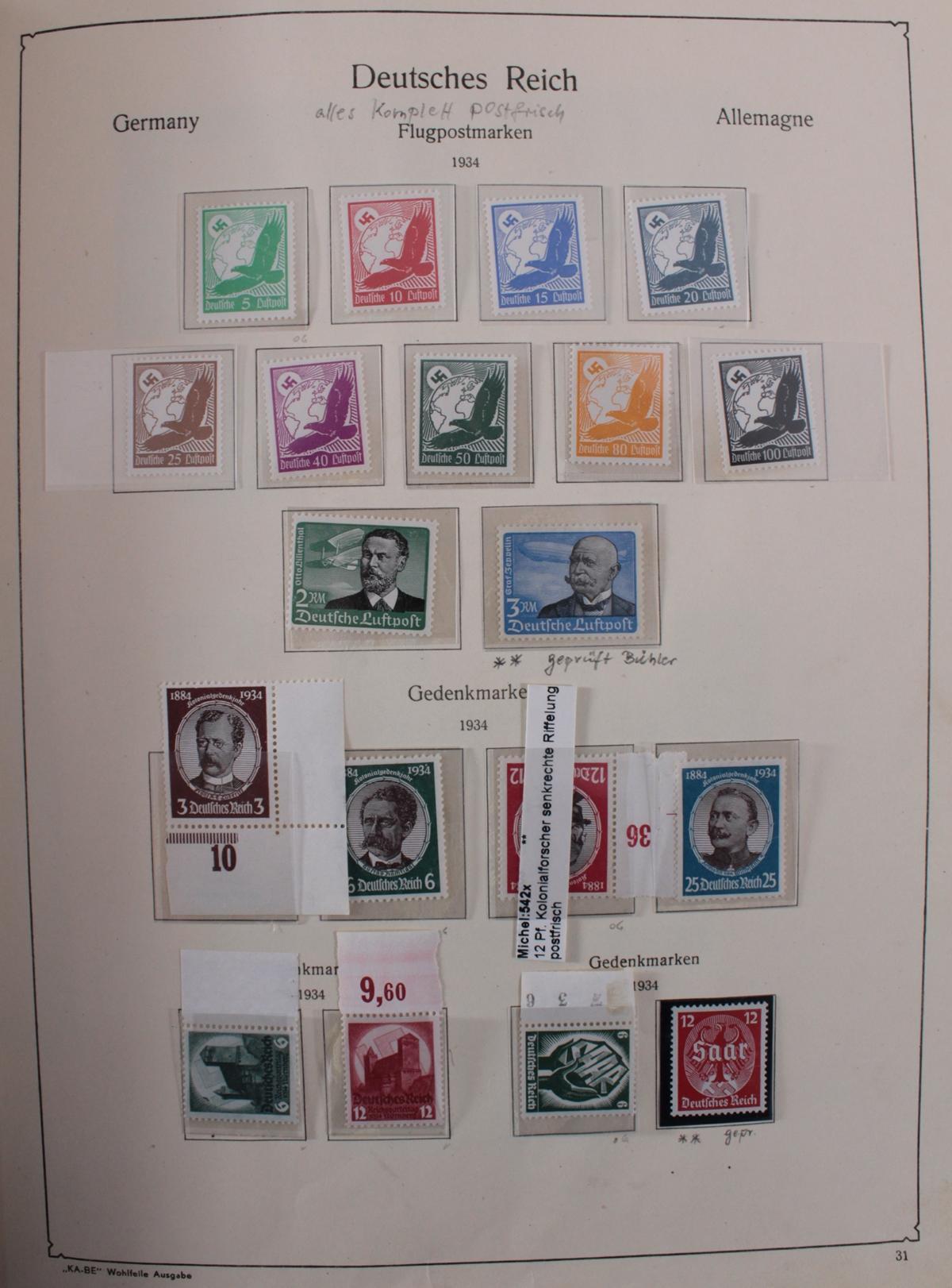 Deutsches Reich, umfangreicher Sammlungsnachlass-33