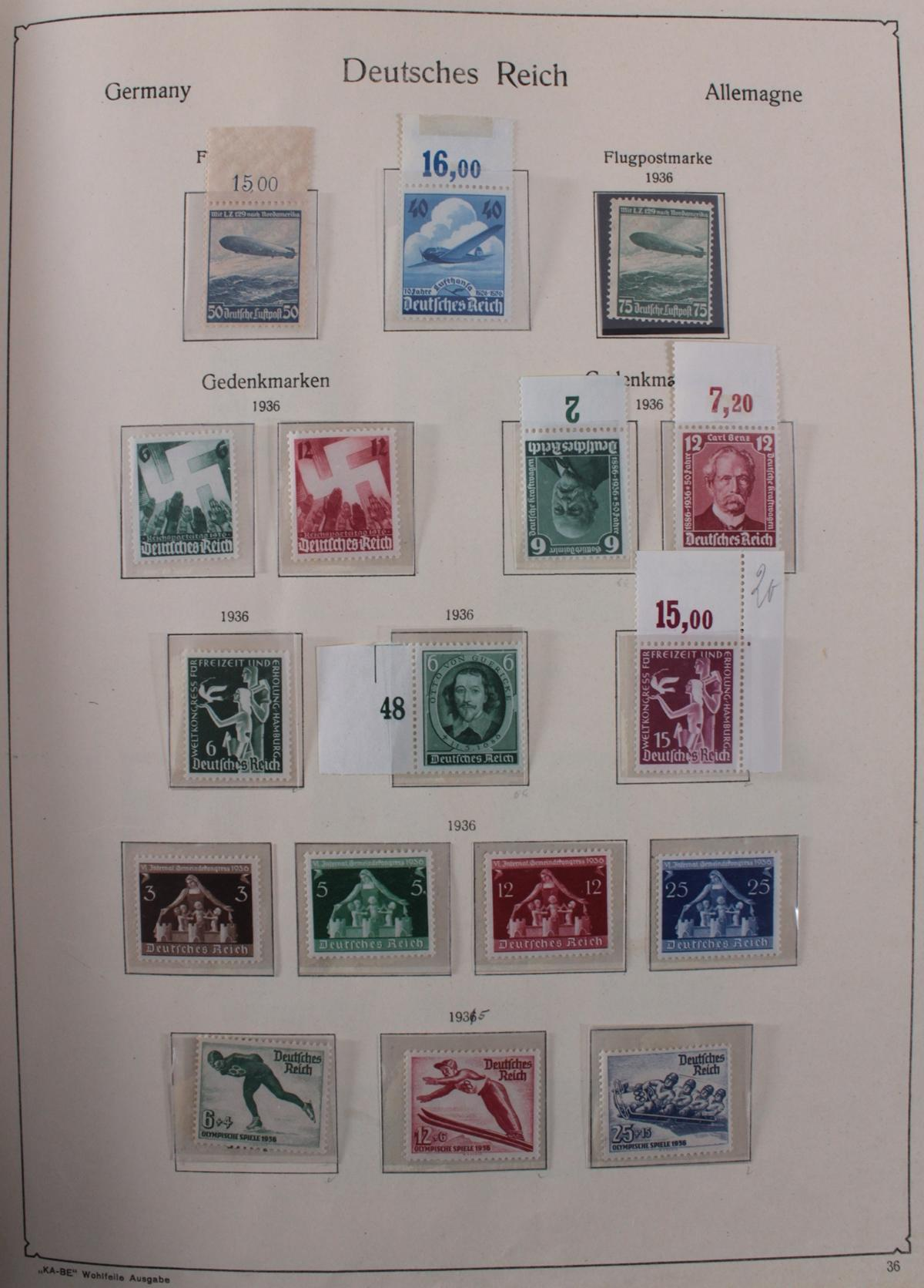 Deutsches Reich, umfangreicher Sammlungsnachlass-36