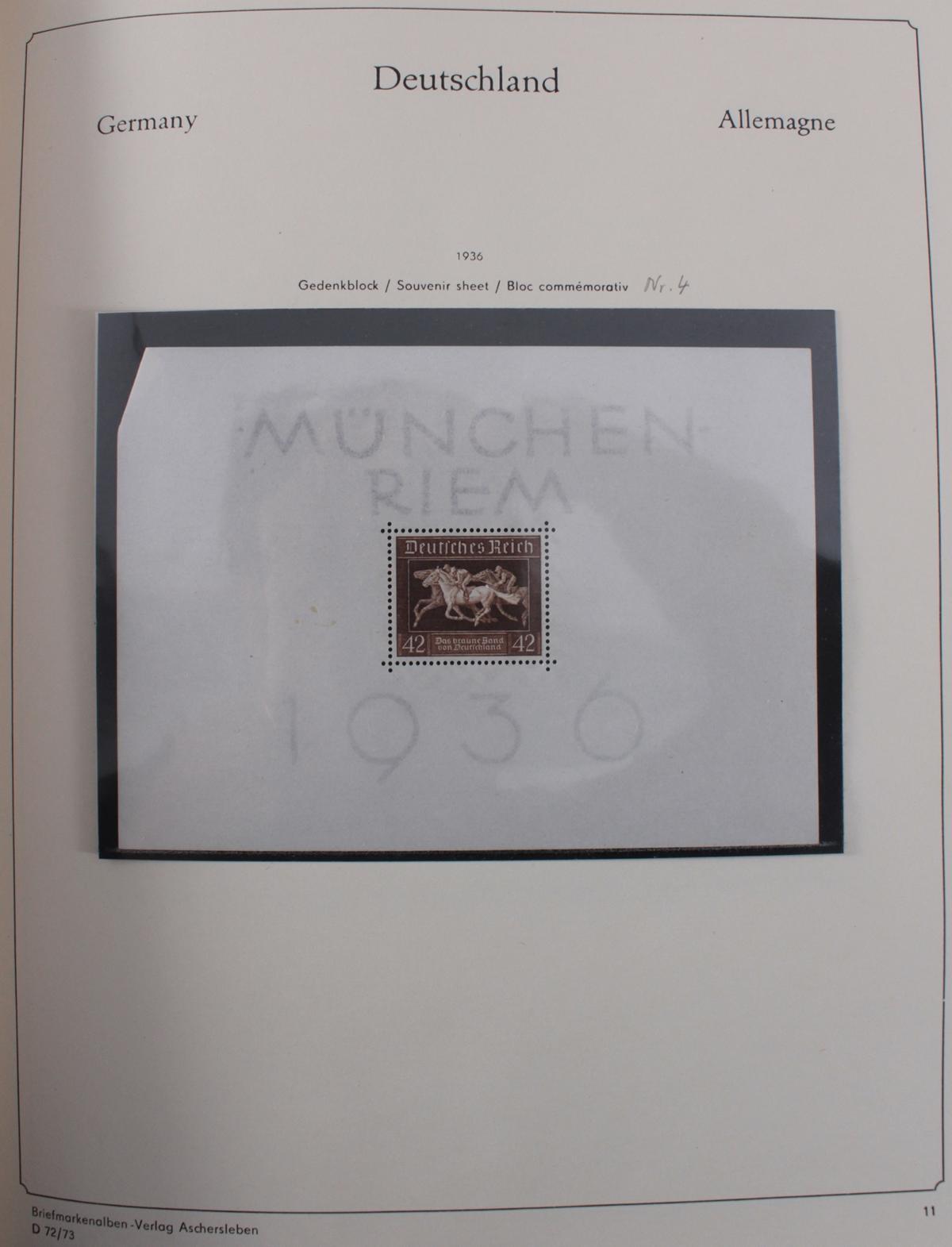 Deutsches Reich, umfangreicher Sammlungsnachlass-38
