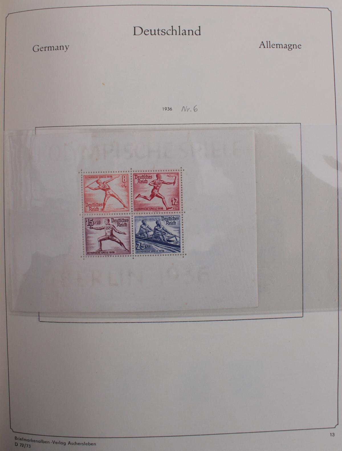 Deutsches Reich, umfangreicher Sammlungsnachlass-40