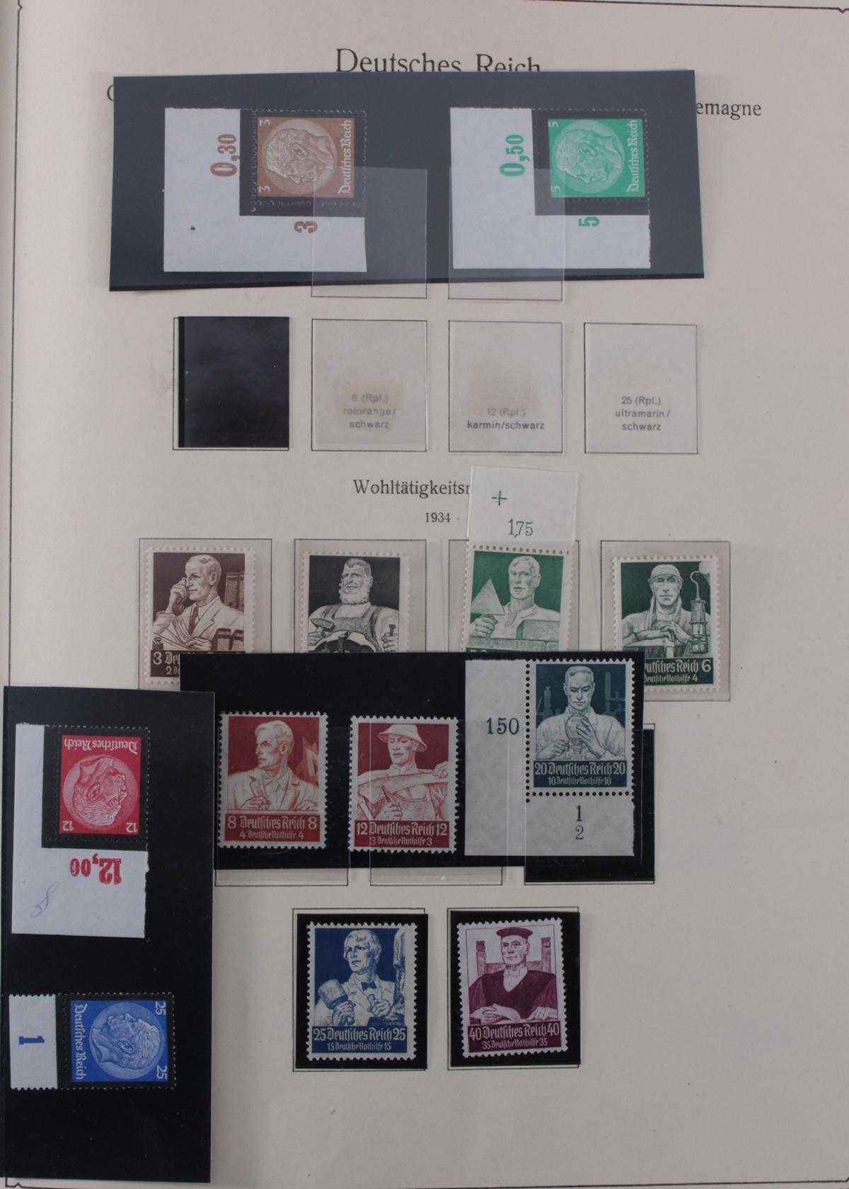 Deutsches Reich, umfangreicher Sammlungsnachlass-41