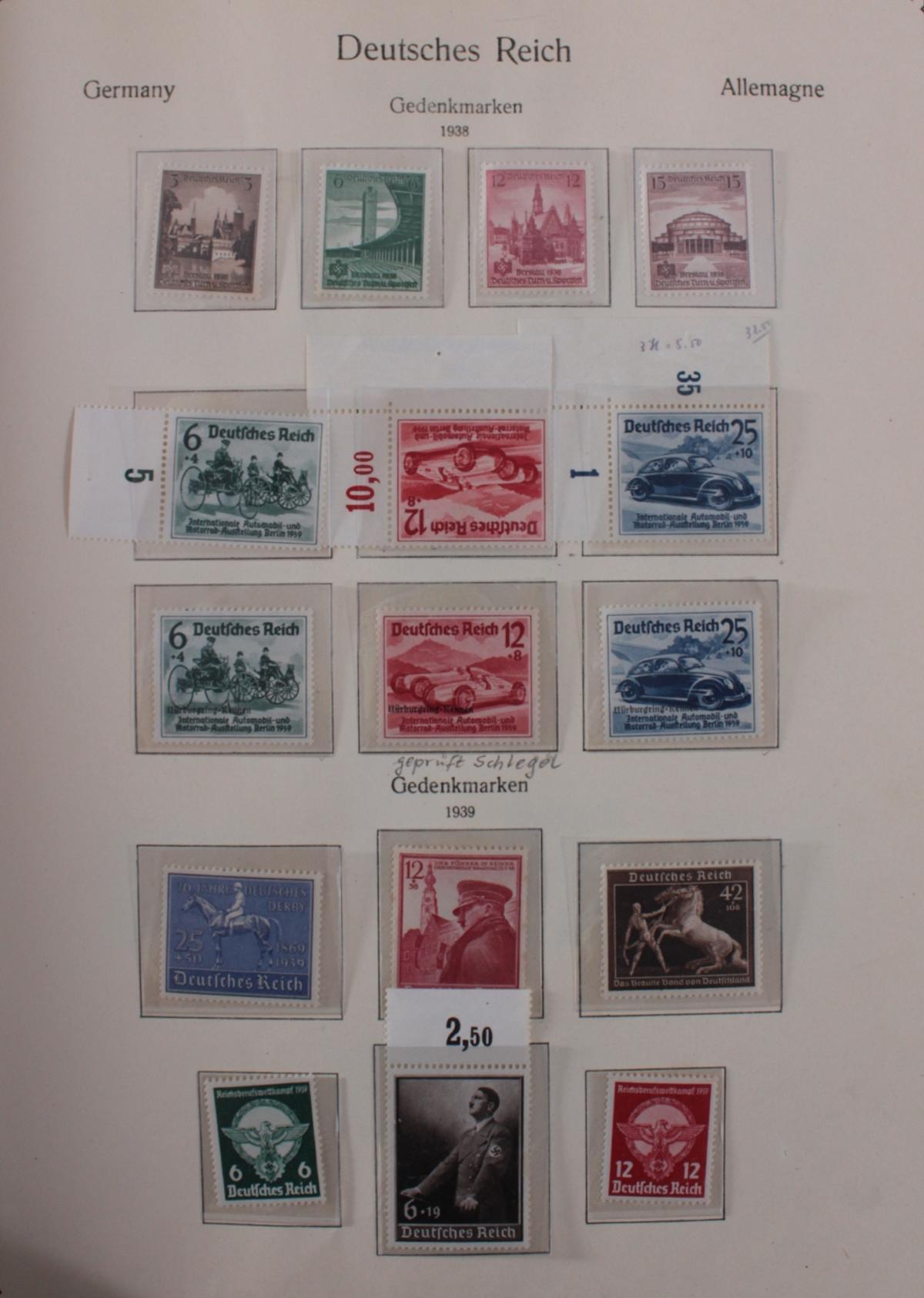 Deutsches Reich, umfangreicher Sammlungsnachlass-42