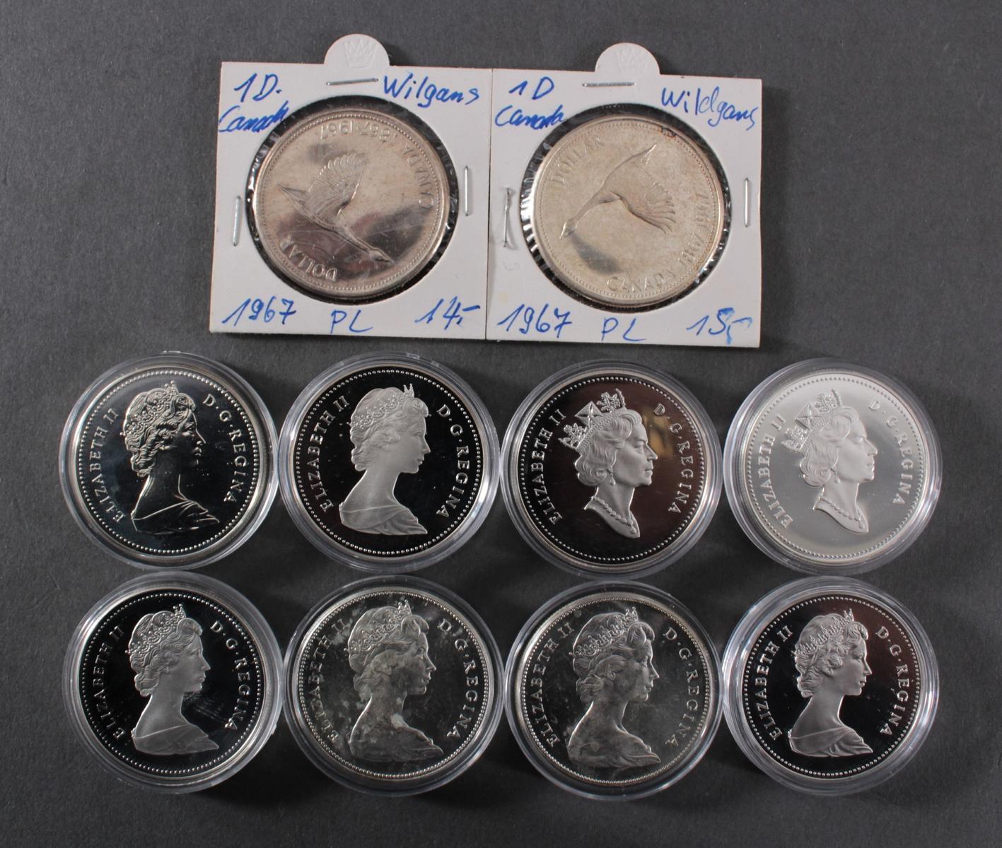 Die offiziellen Silbergedenkmünzen Kanadas-2