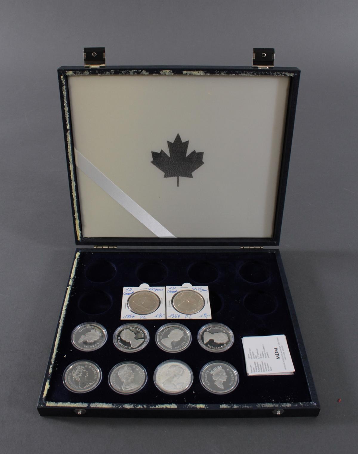 Die offiziellen Silbergedenkmünzen Kanadas-3